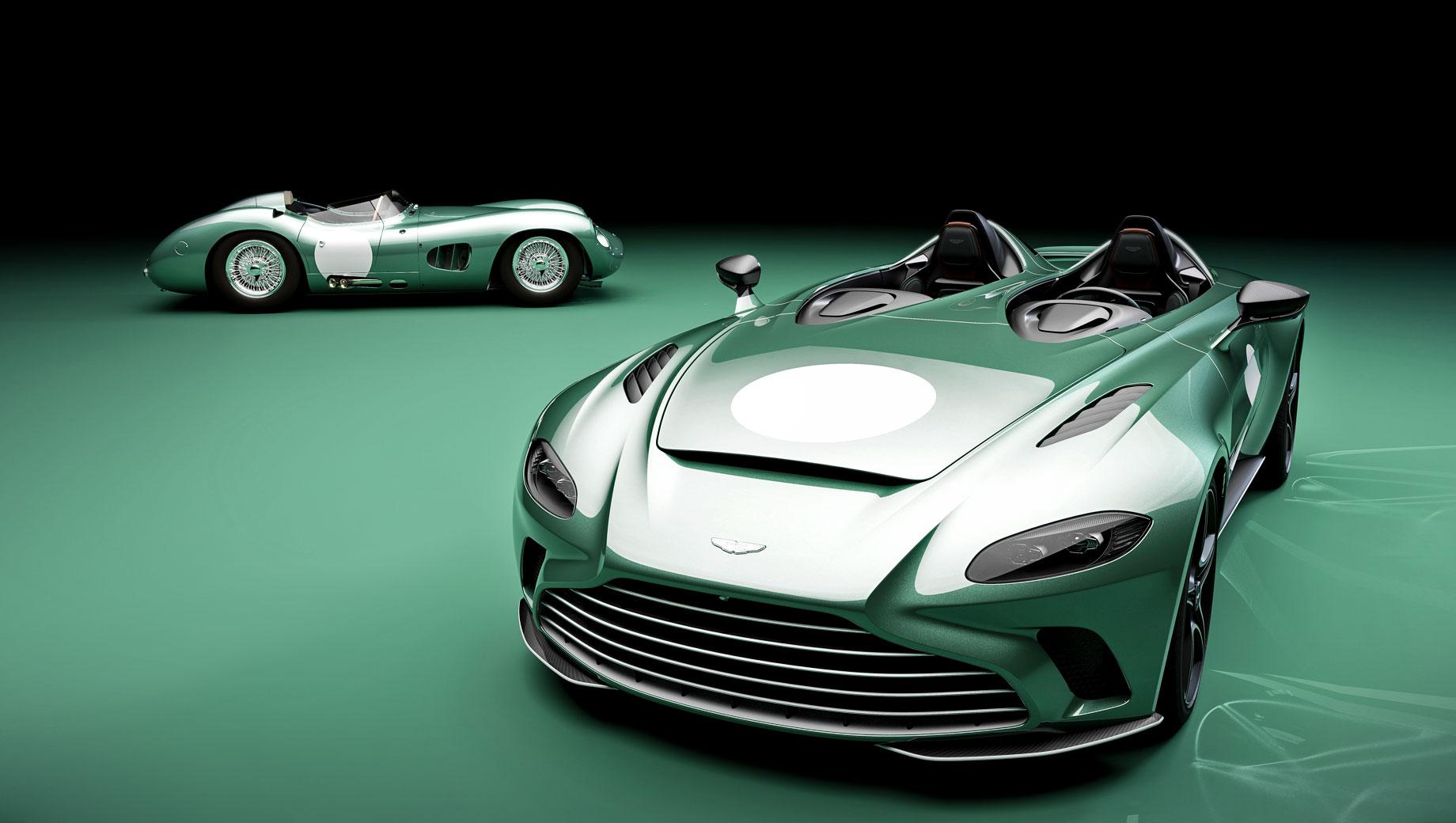 Aston Martin V12 Speedster приукрашен в спецверсии DBR1