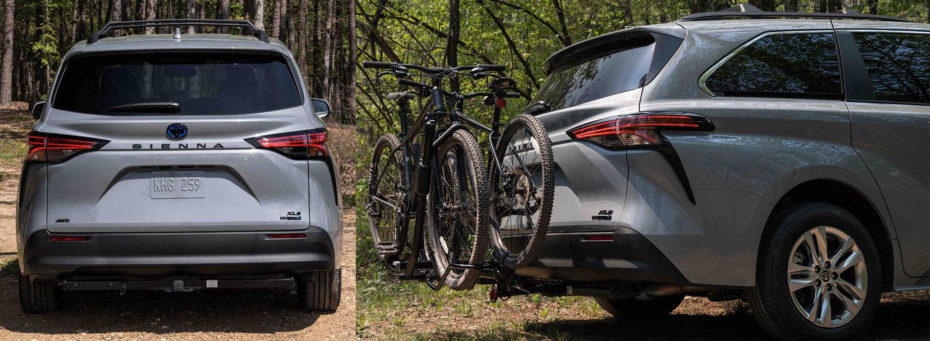 Toyota Sienna приготовилась к вылазкам на природу