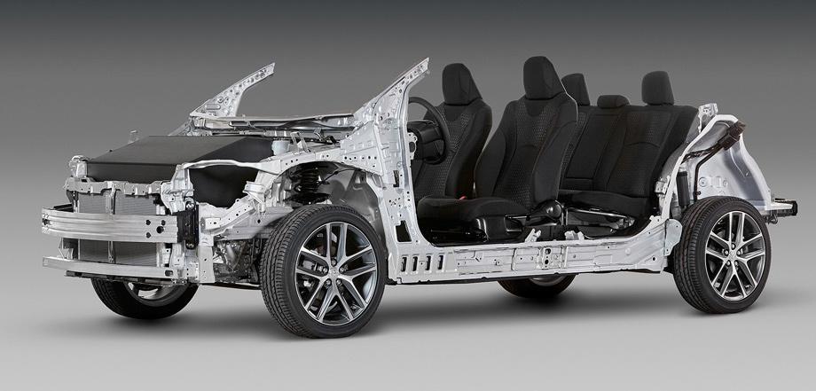 Выделяем базовый среди обновлённых седанов Toyota Camry