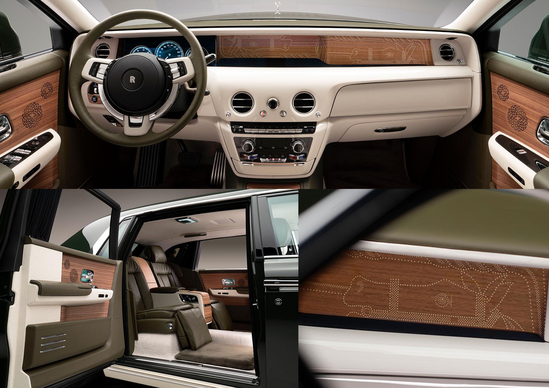 Rolls-Royce Phantom Oribe уподобился древней керамике