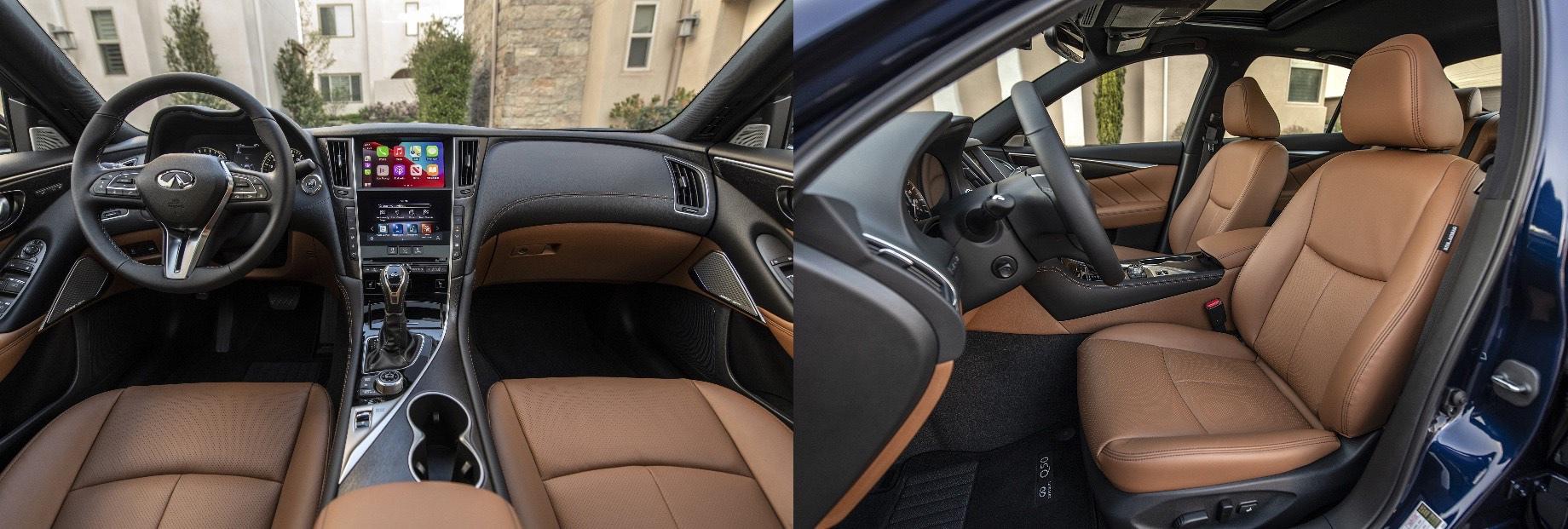 Седан Infiniti Q50 предстал в версии Signature Edition