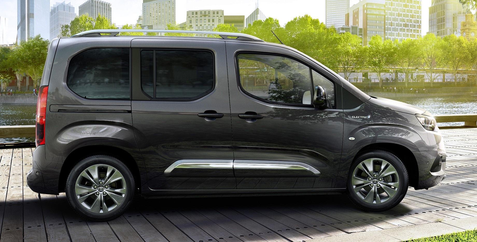 Модели Toyota Proace City Electric выйдут на рынок в конце года