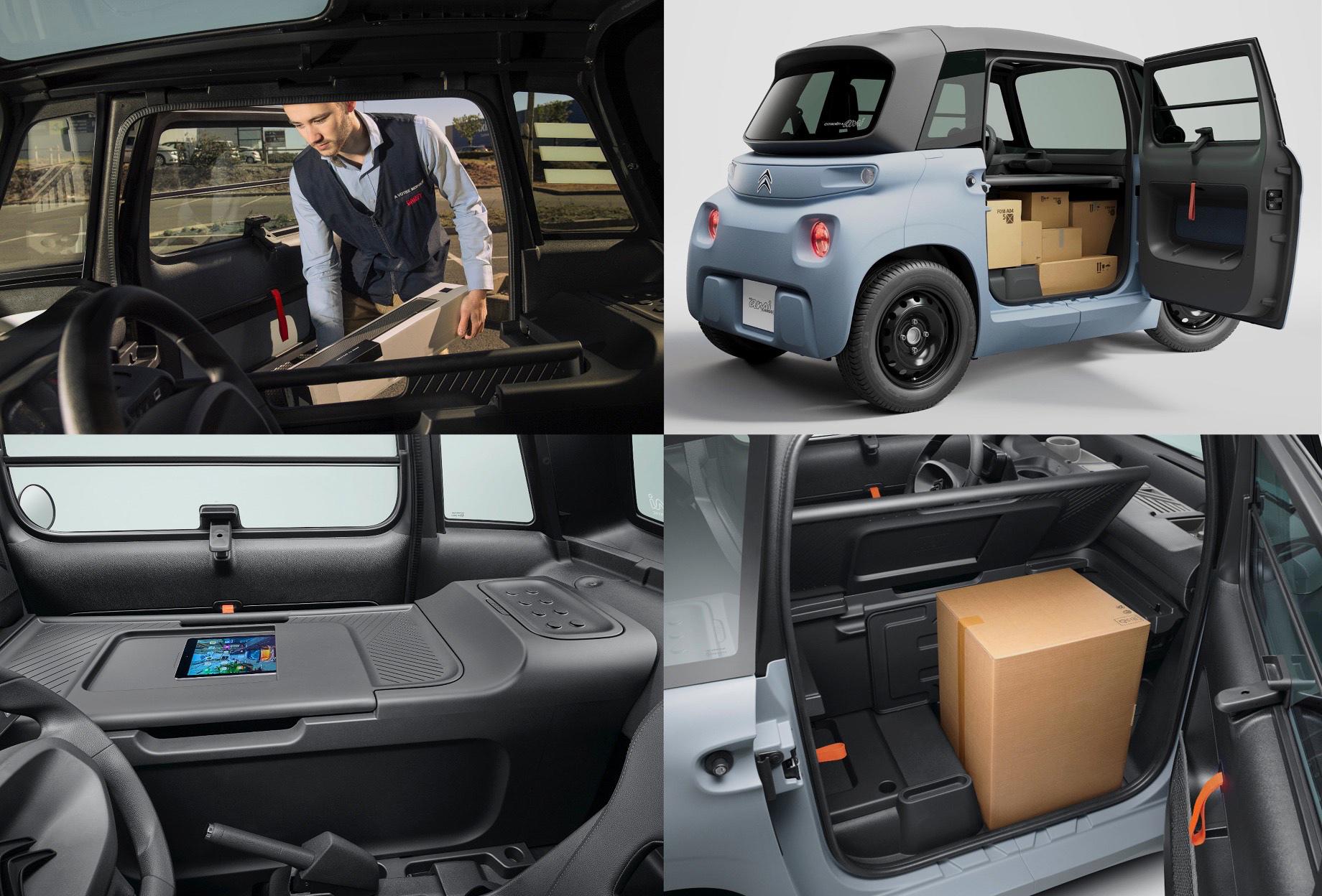Электрокар Citroen Ami обзавёлся грузовой версией My Ami Cargo