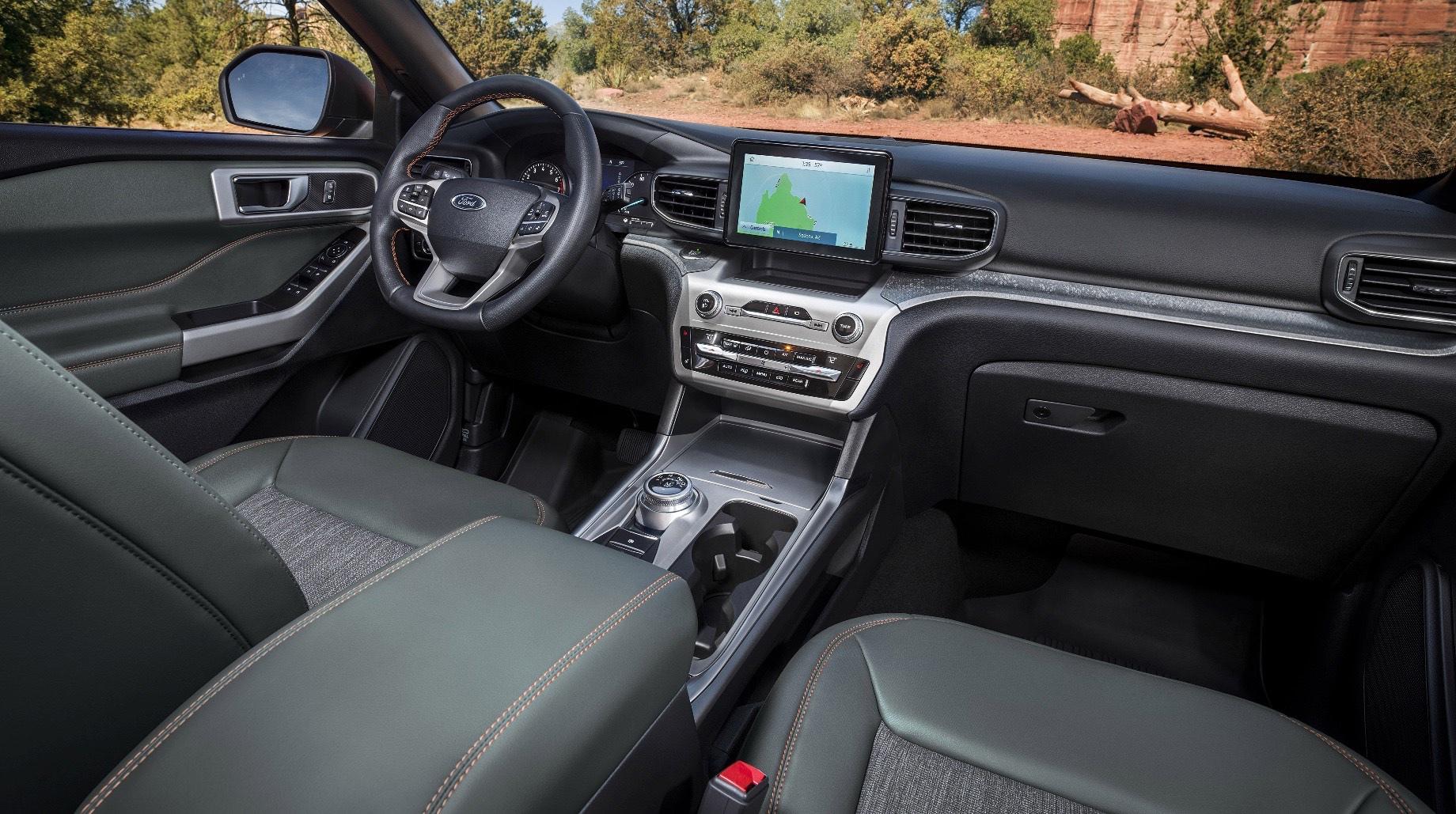 Ford Explorer отправится на покорение бездорожья