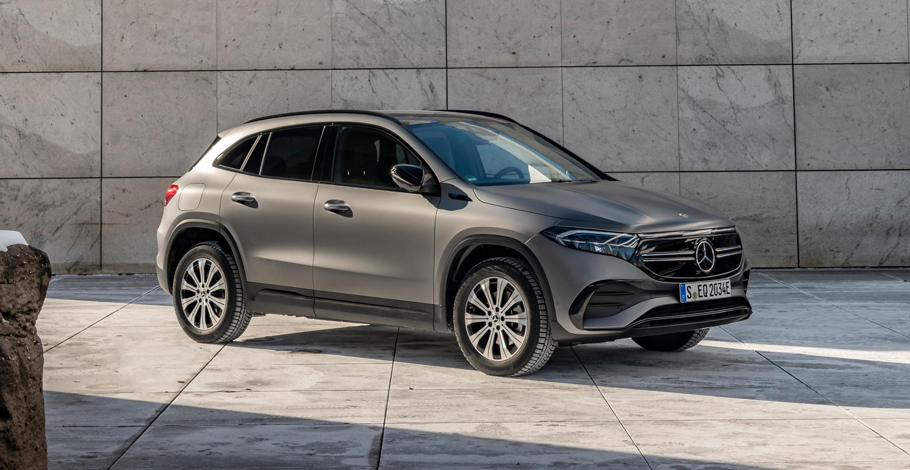 Электрокар Mercedes-Benz EQA обзавёлся полным приводом