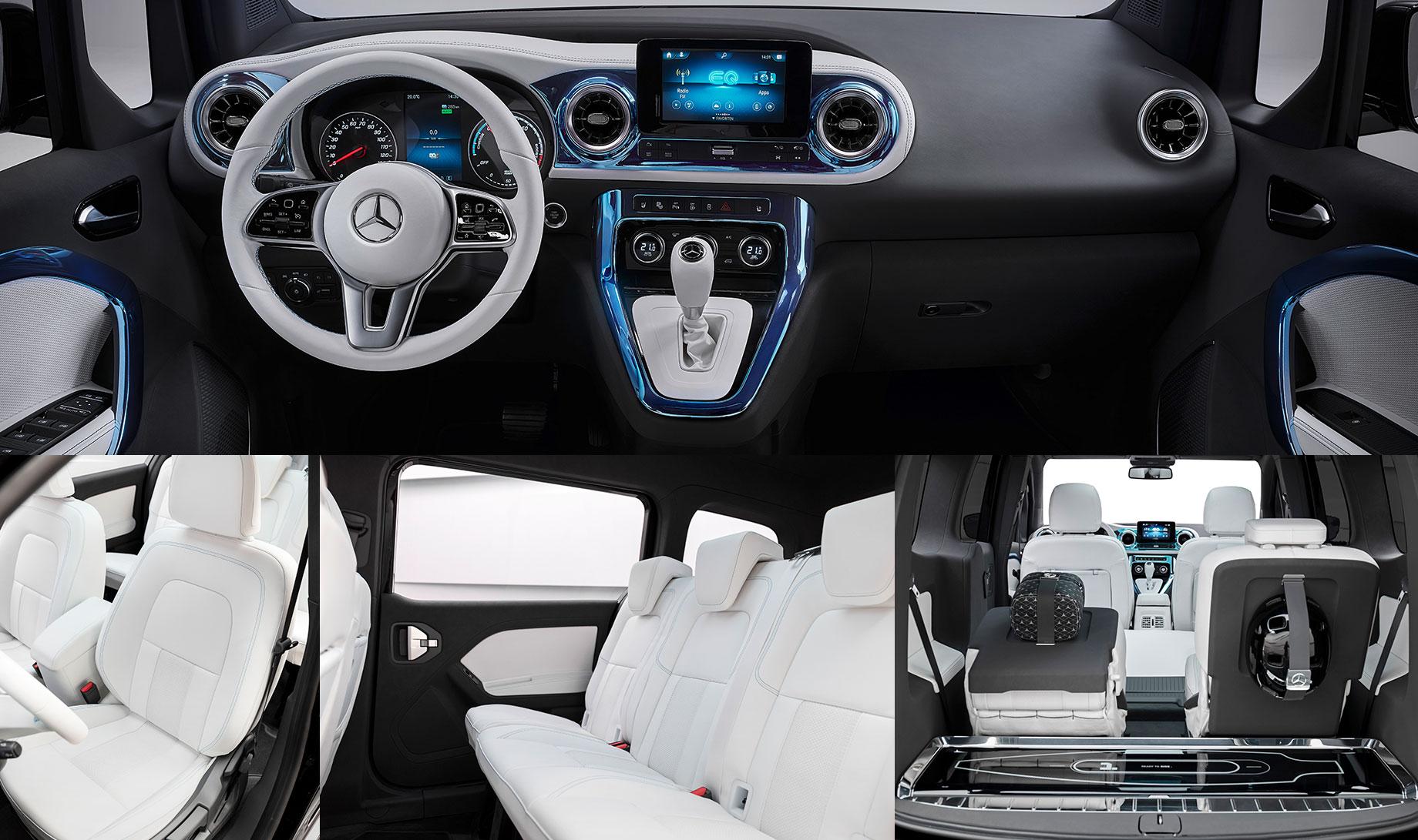 Mercedes-Benz Concept EQT рассказал о трёх компактвэнах