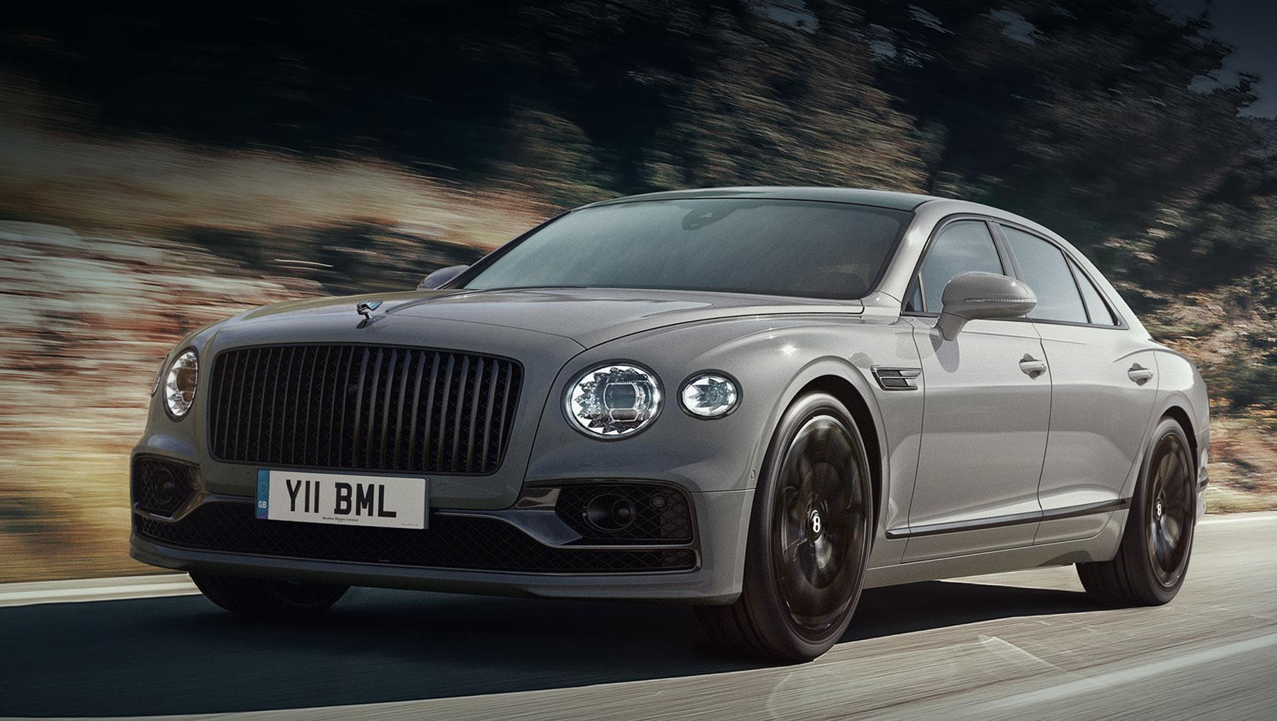 Седан Bentley Flying Spur претерпел скромное обновление
