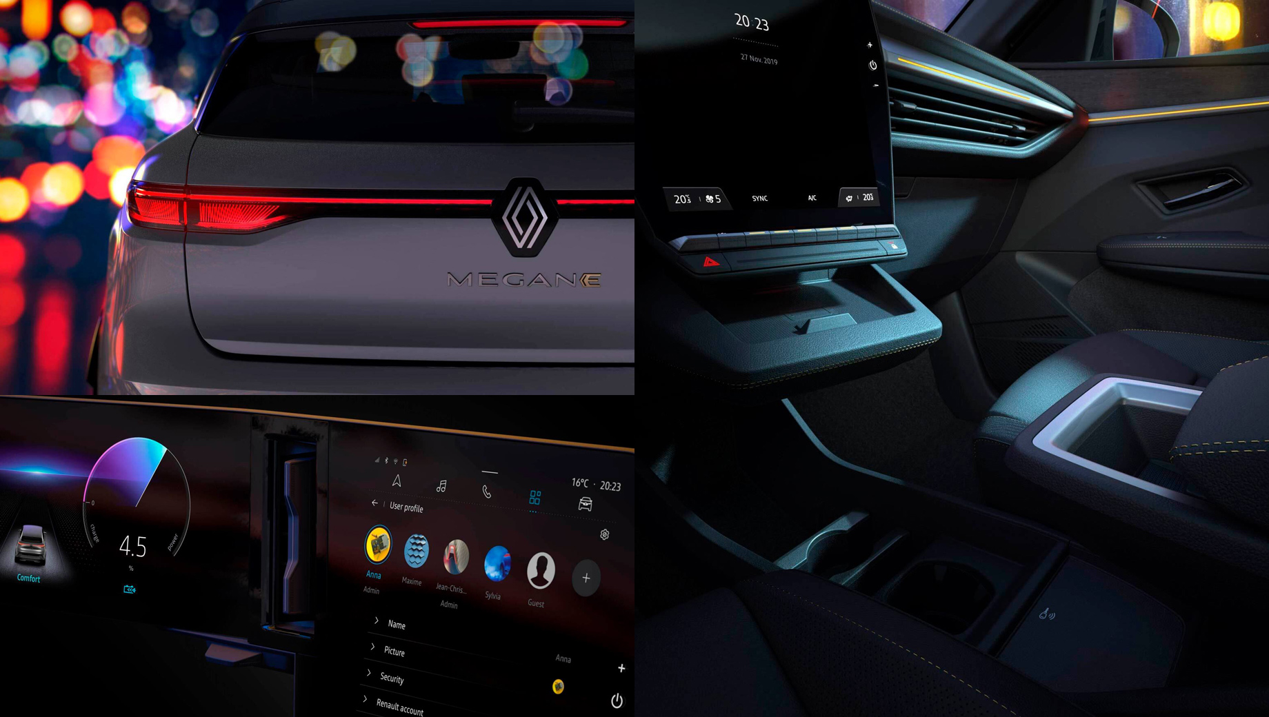 Хэтч Renault Megane E-Tech Plug-in Hybrid стартовал в Европе