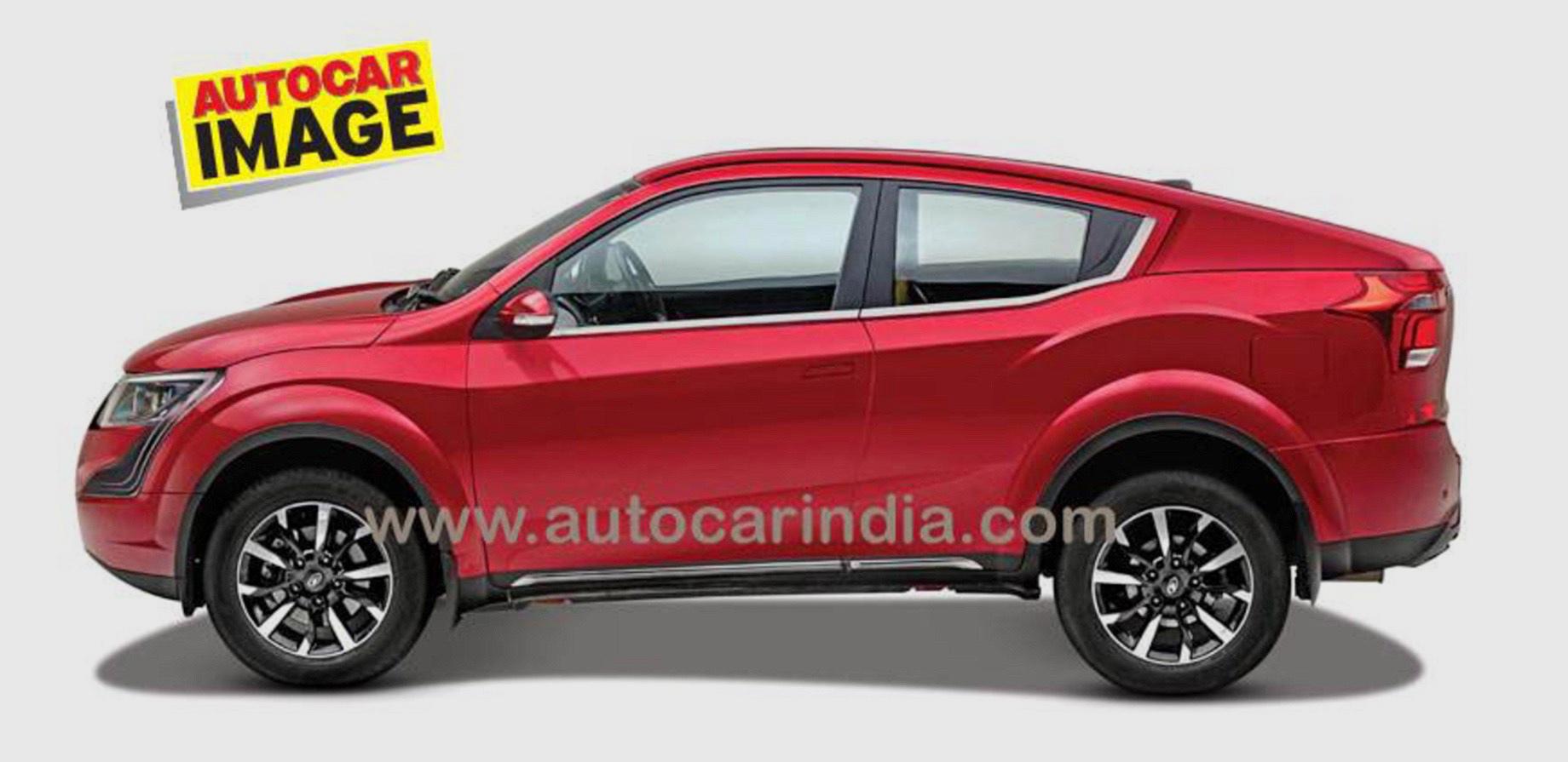 Новая Mahindra XUV900 станет первым «купе» из Индии