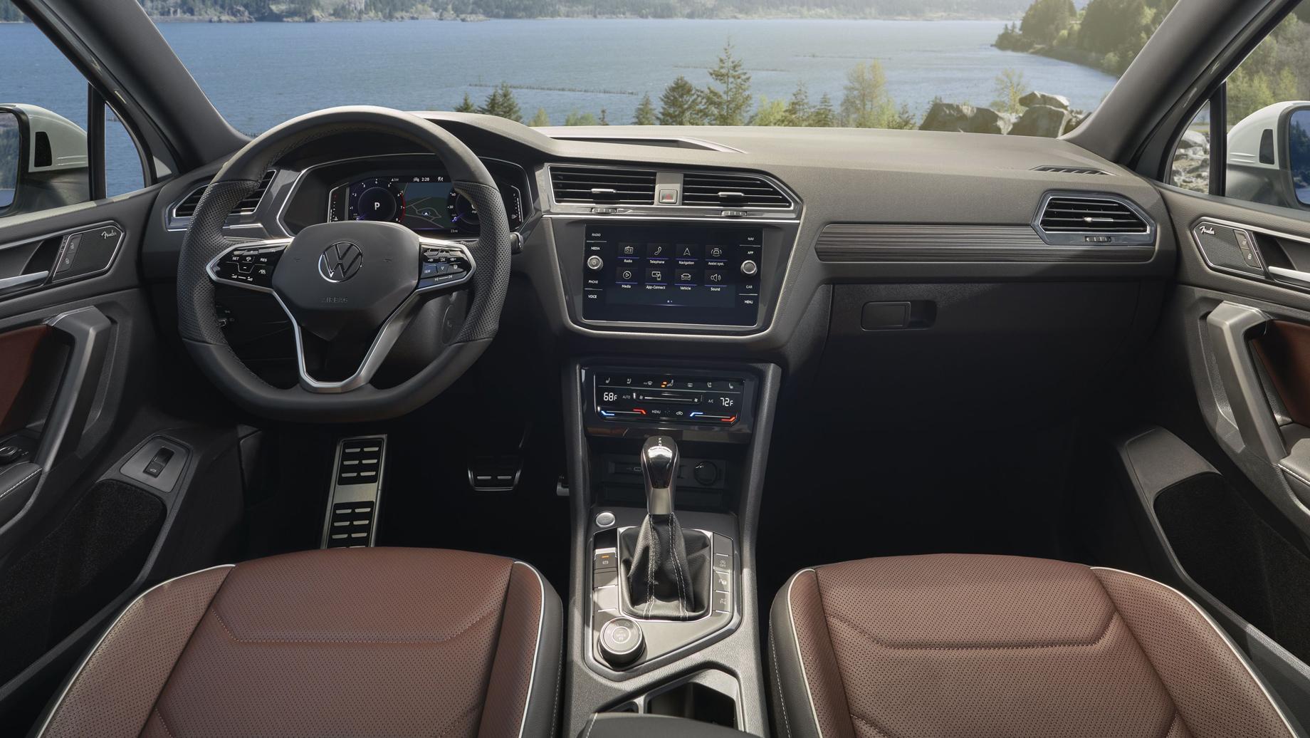 Volkswagen Tiguan Allspace получил обновки вслед за Тигуаном