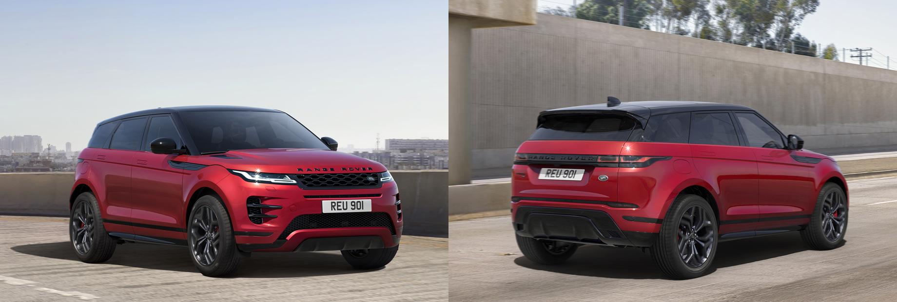 Range Rover Evoque обогатился версиями Bronze и HST