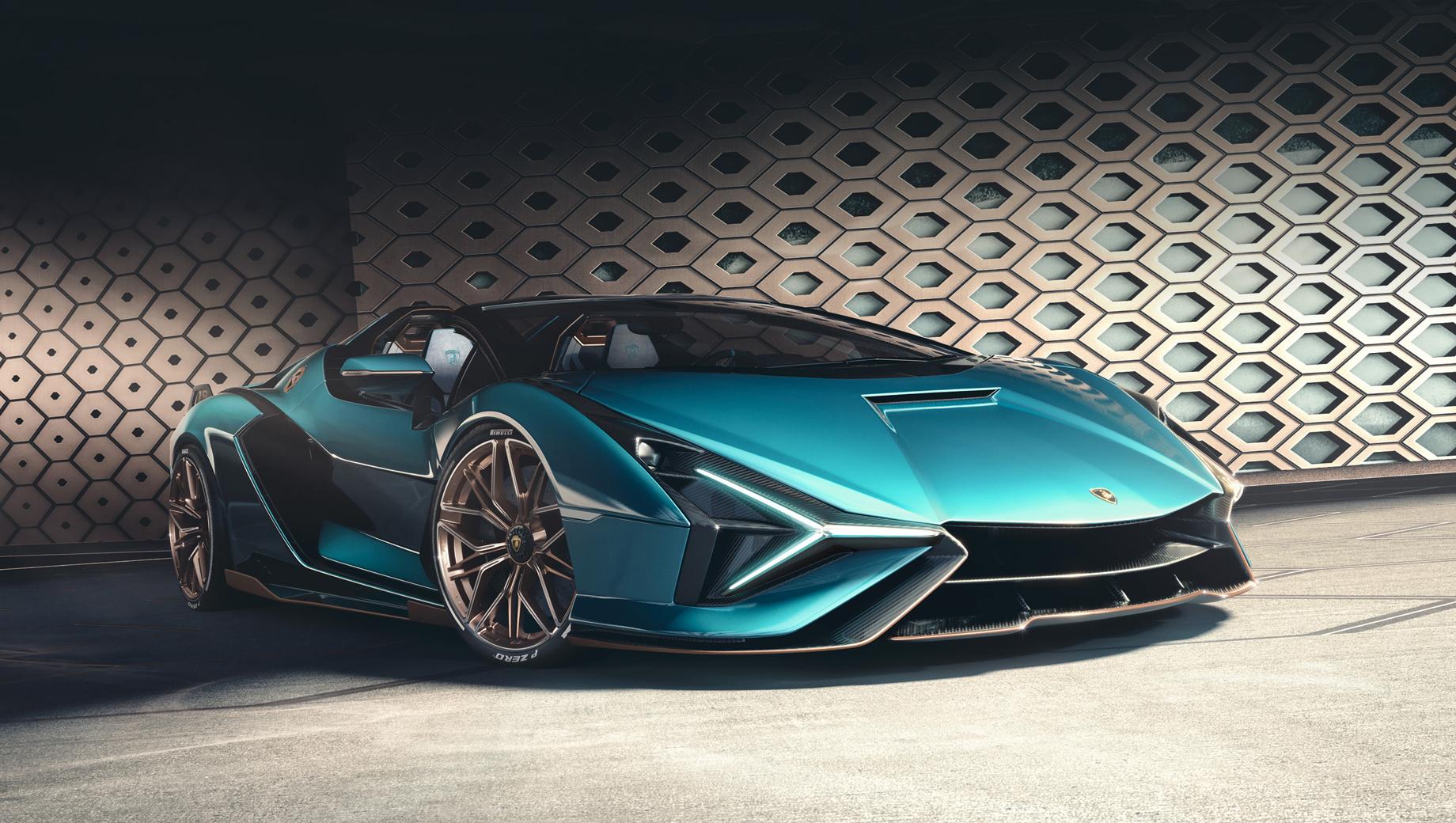Компания Lamborghini представила план электрификации моделей