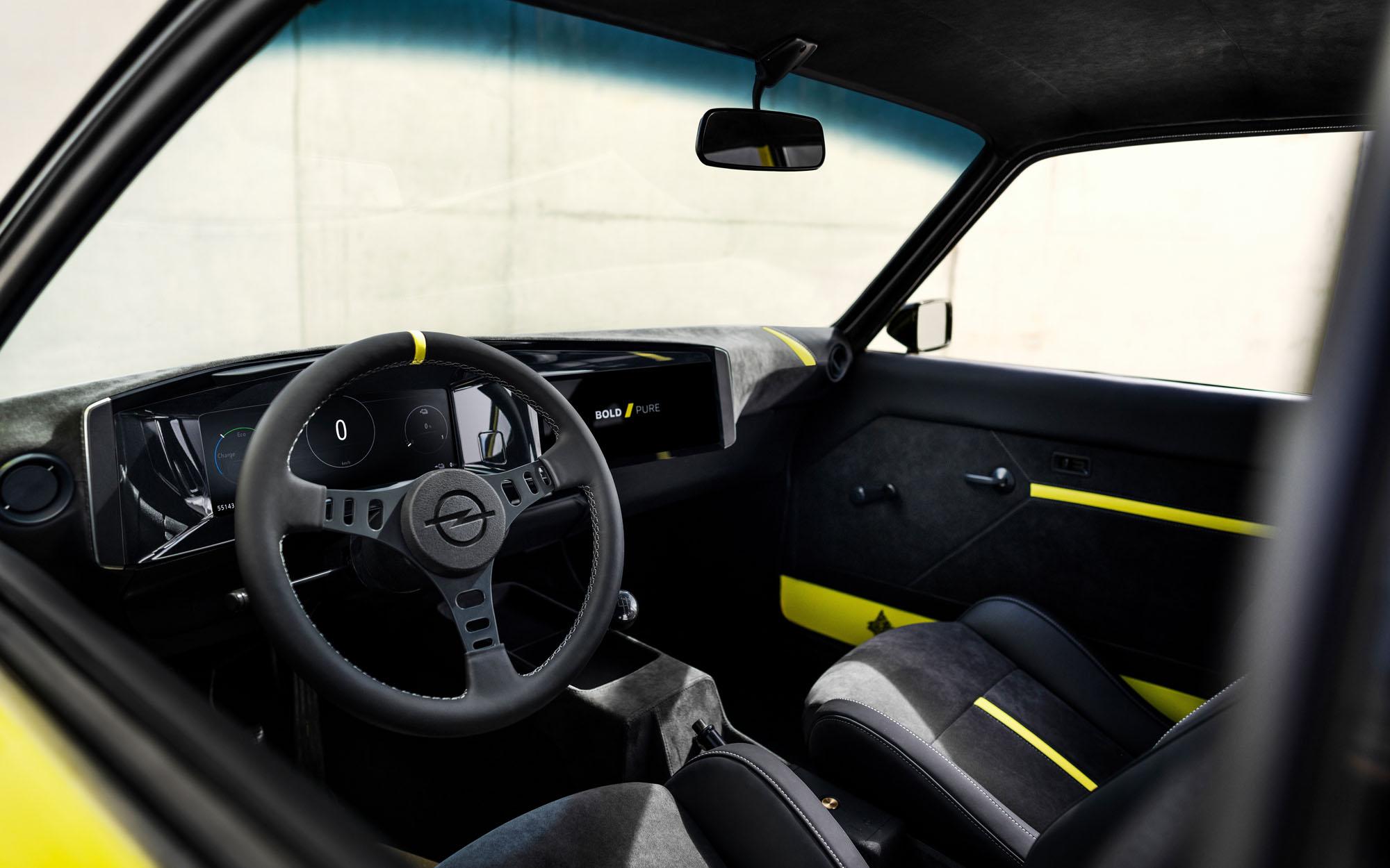 Opel Manta GSe ElektroMOD: заводской рестомод с большими надеждами на будущее