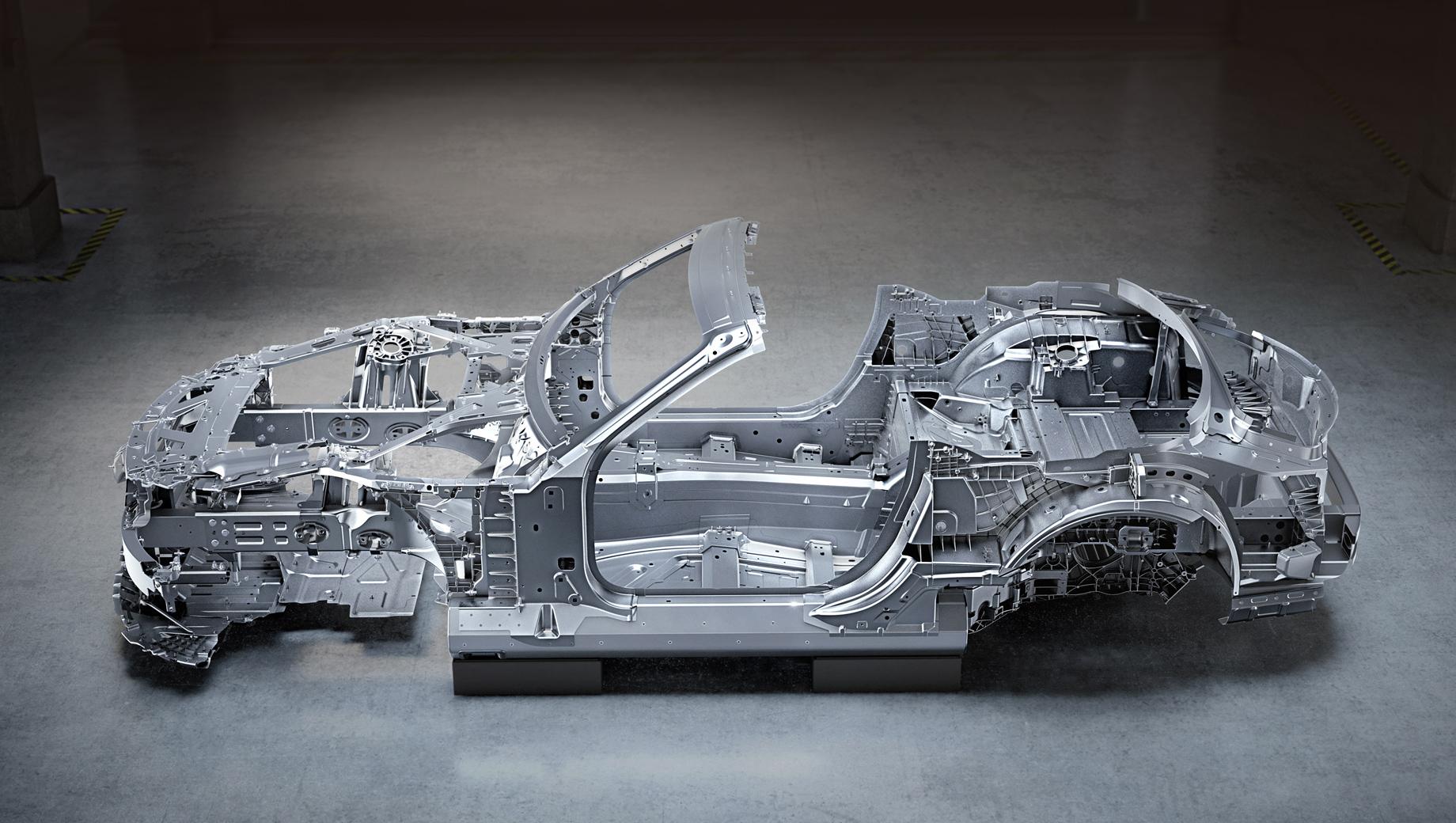 Каркас Мерседеса-AMG SL удивил комбинацией лёгких материалов
