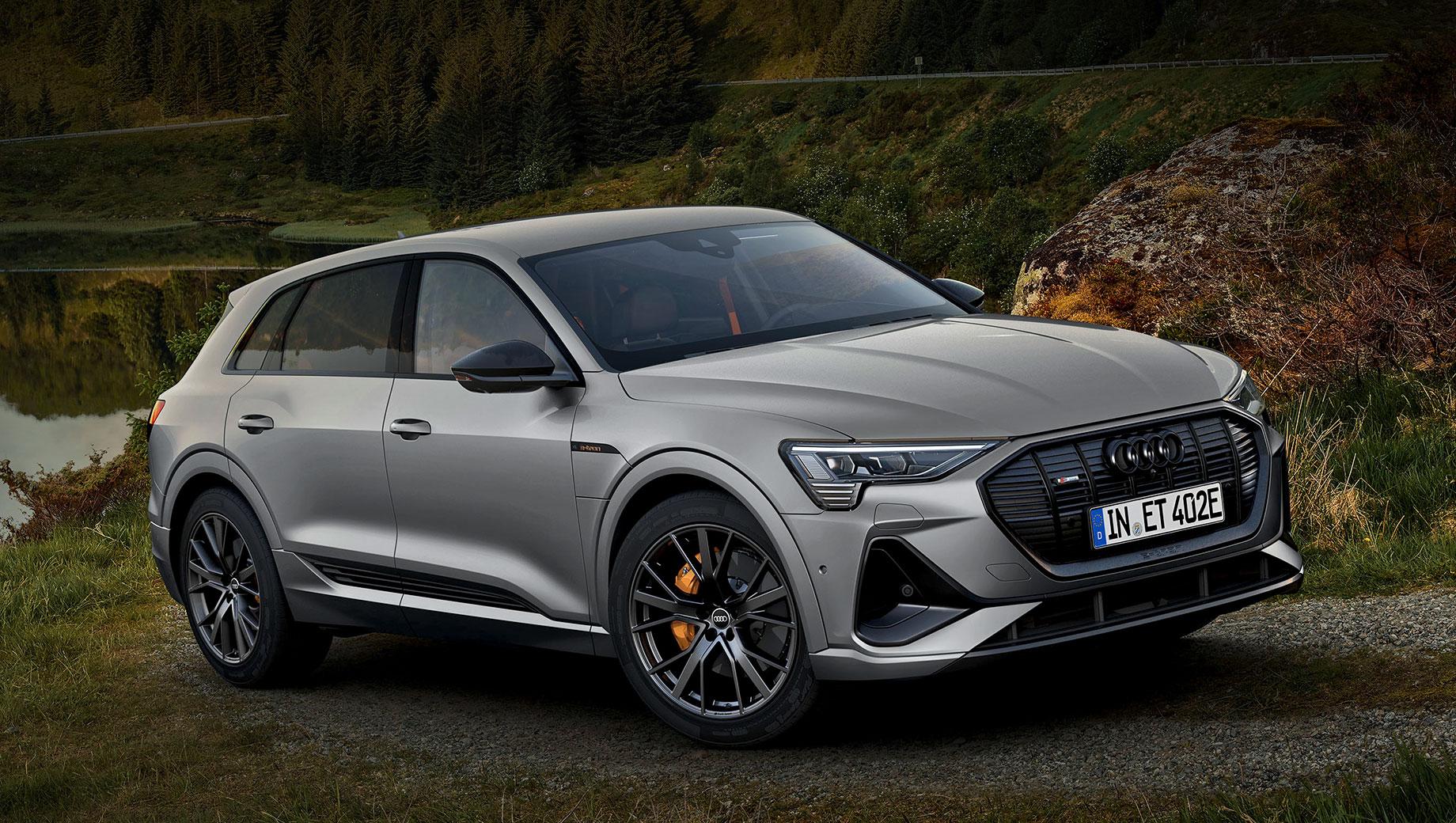 Семейство Audi e-tron почернело в версии S line black edition