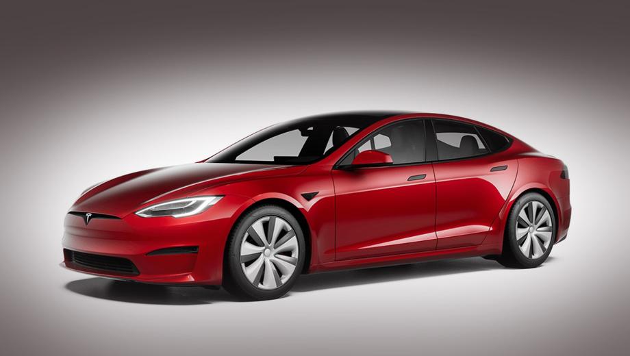 Tesla отказалась от выпуска пятидверки Model S Plaid