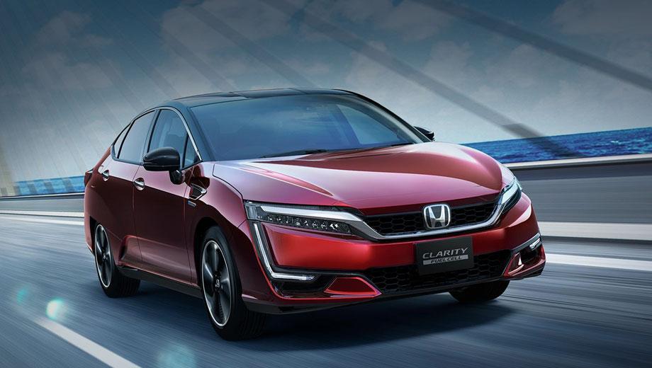 Honda clarity,Honda odyssey,Honda legend. Публичная история Clarity началась с концепта FCEV (2013), продолжилась шоу-каром Honda FCV (2015) и серийным седаном (2016). Затем Clarity превратился в семейство (2017), а сейчас версия Fuel Cell предлагается японцам только в лизинг за 7 836 400 иен (5,12 млн рублей).