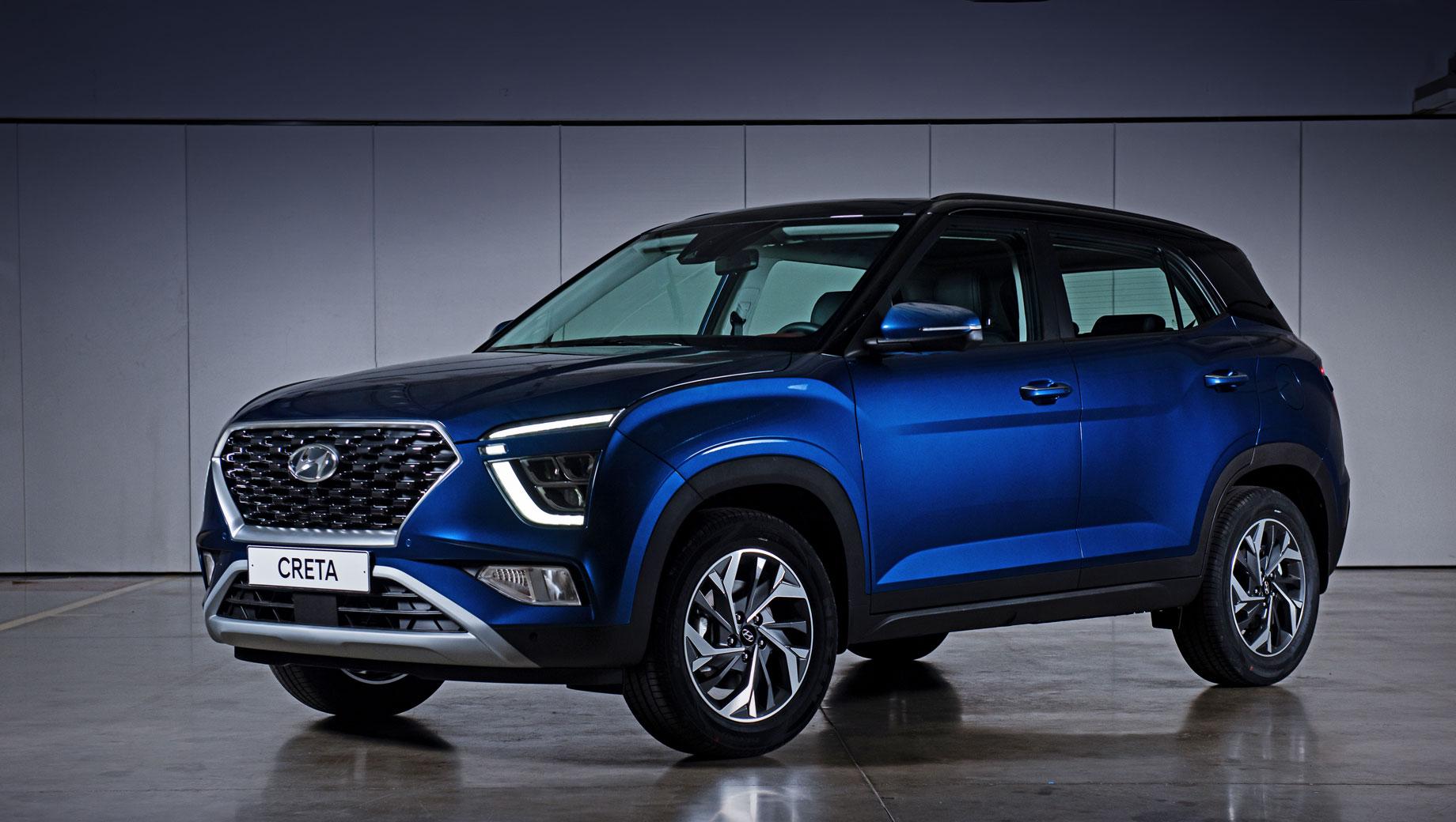 Вторая Hyundai Creta прописалась на заводе в Санкт-Петербурге