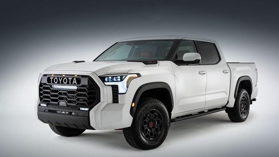 Дополнено: Toyota Tundra вынуждено раскрыла экстерьер
