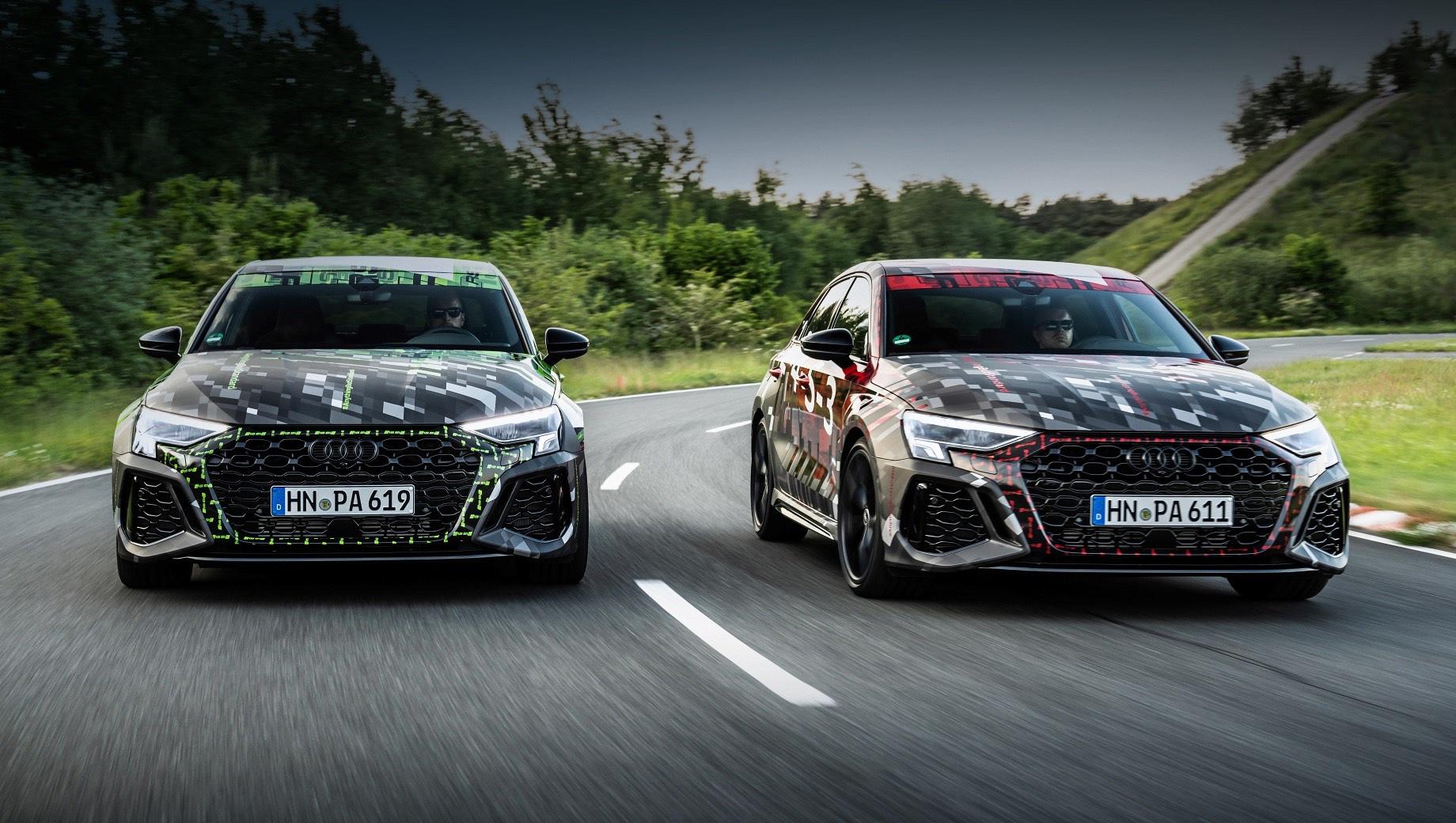 Новые Audi RS 3 реализуют мечты фанатов о дрифте