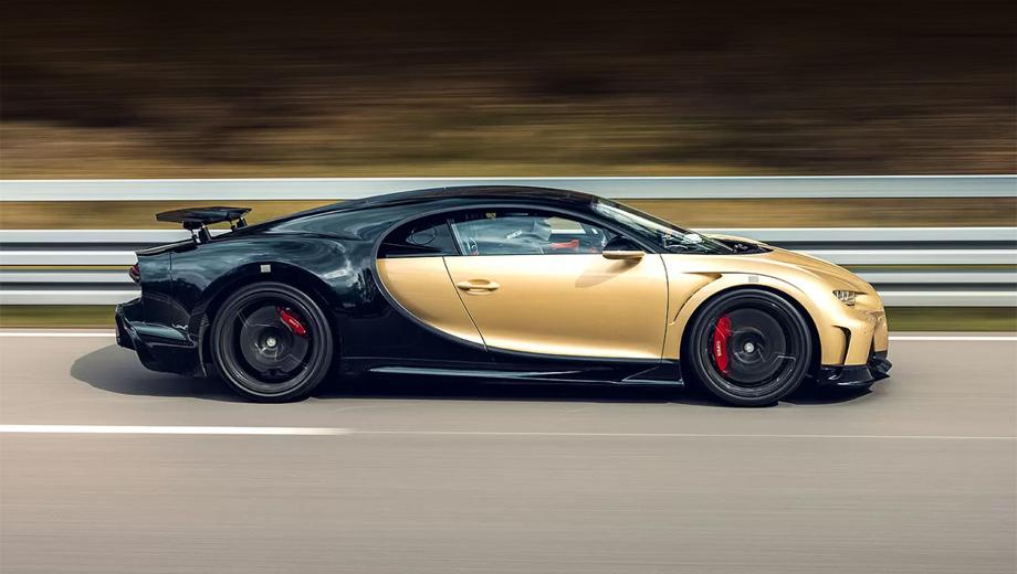 Bugatti chiron,Bugatti chiron super sport. Поскольку максималка Супер Спорта ограничена электроникой (возможности мотора выше), задача финальных тестов не убедиться в достижении этой скорости, а настроить поведение машины оптимальным образом.