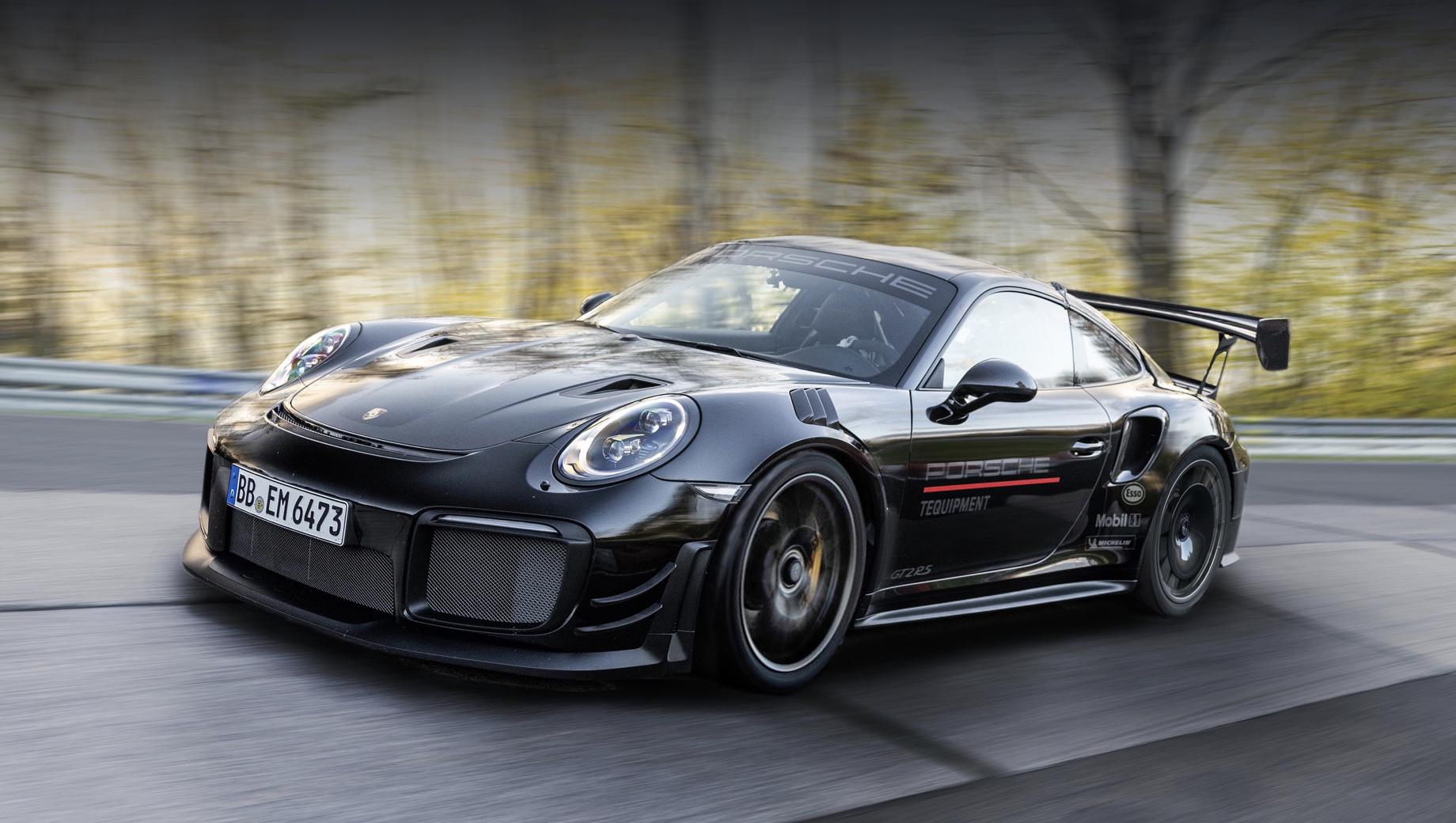 Porsche 911 GT2 RS побил рекорд с официальным пакетом