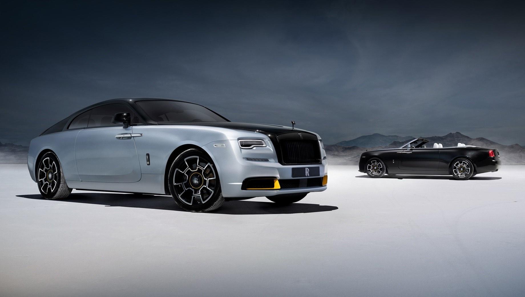 Модели Rolls-Royce Wraith и Dawn восславят скоростные рекорды 30-х