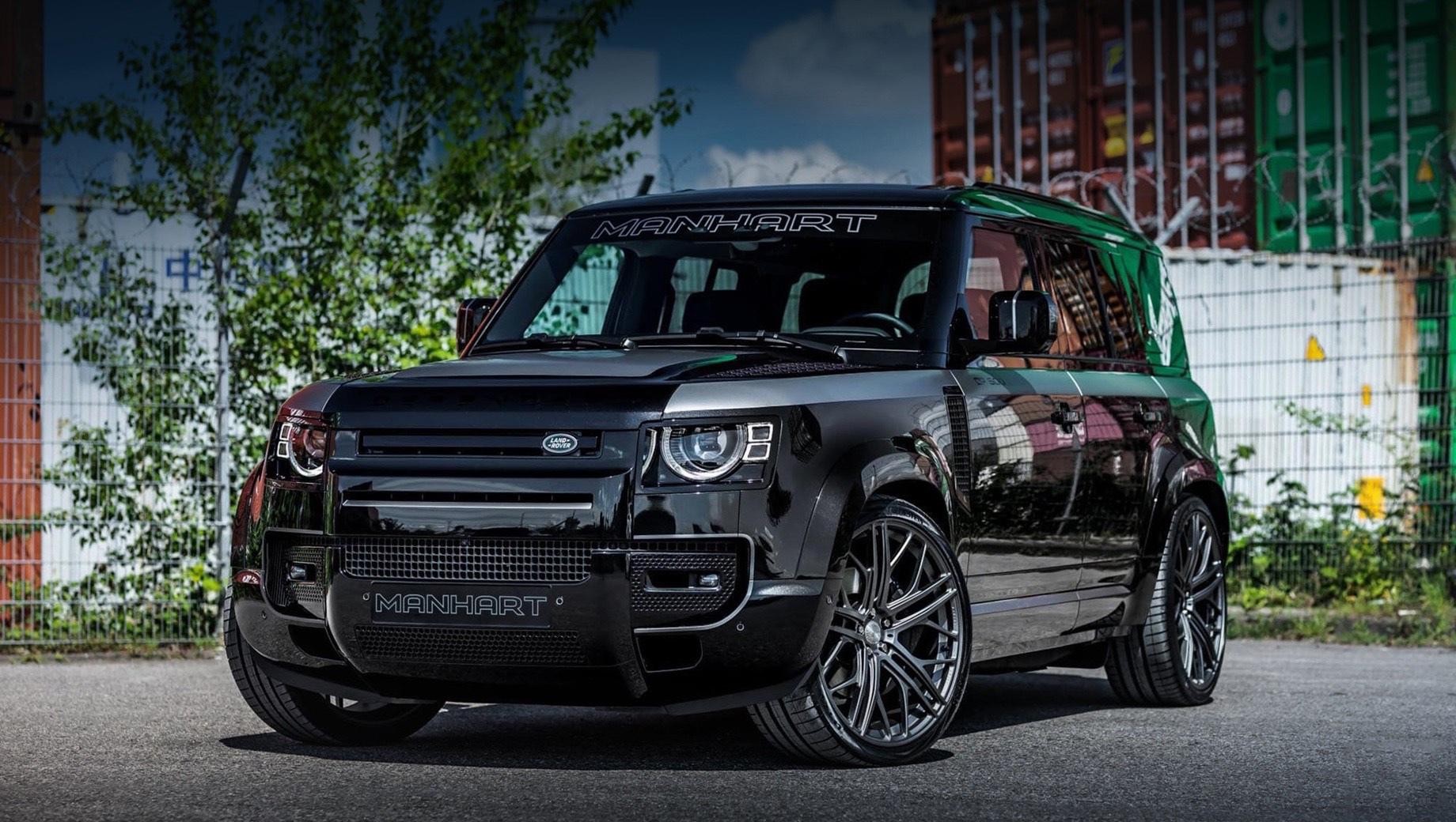Land Rover Defender ощутил неочевидный подход бюро Manhart