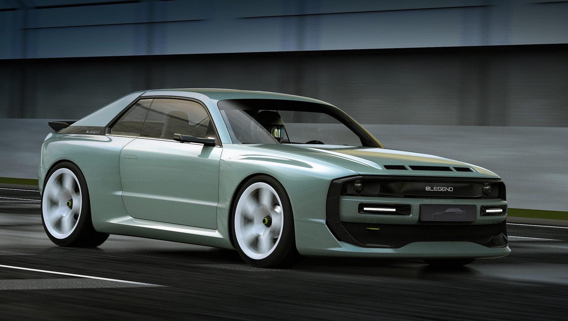 Audi quattro. Для основателя фирмы E-Legend Маркуса Хольцингера постройка современной интерпретации гоночной машины из 80-х — дело личного характера. Всё потому, что над разработкой оригинальной машины трудился его отец. Сам основатель немецкого стартапа отметился работой дизайнера в Фольксвагене.