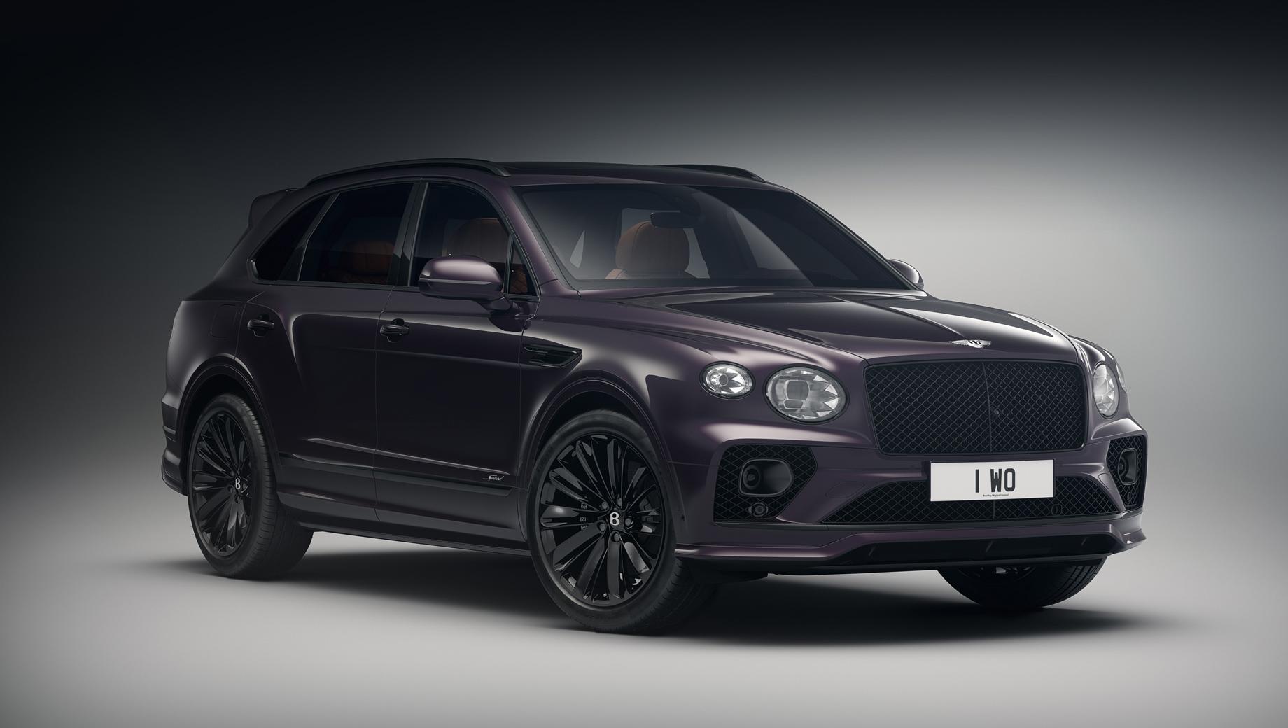 Bentley bentayga,Bentley bentayga speed. Серия создана силами ателье Mulliner, отвечающего за персонализацию и особые проекты марки.