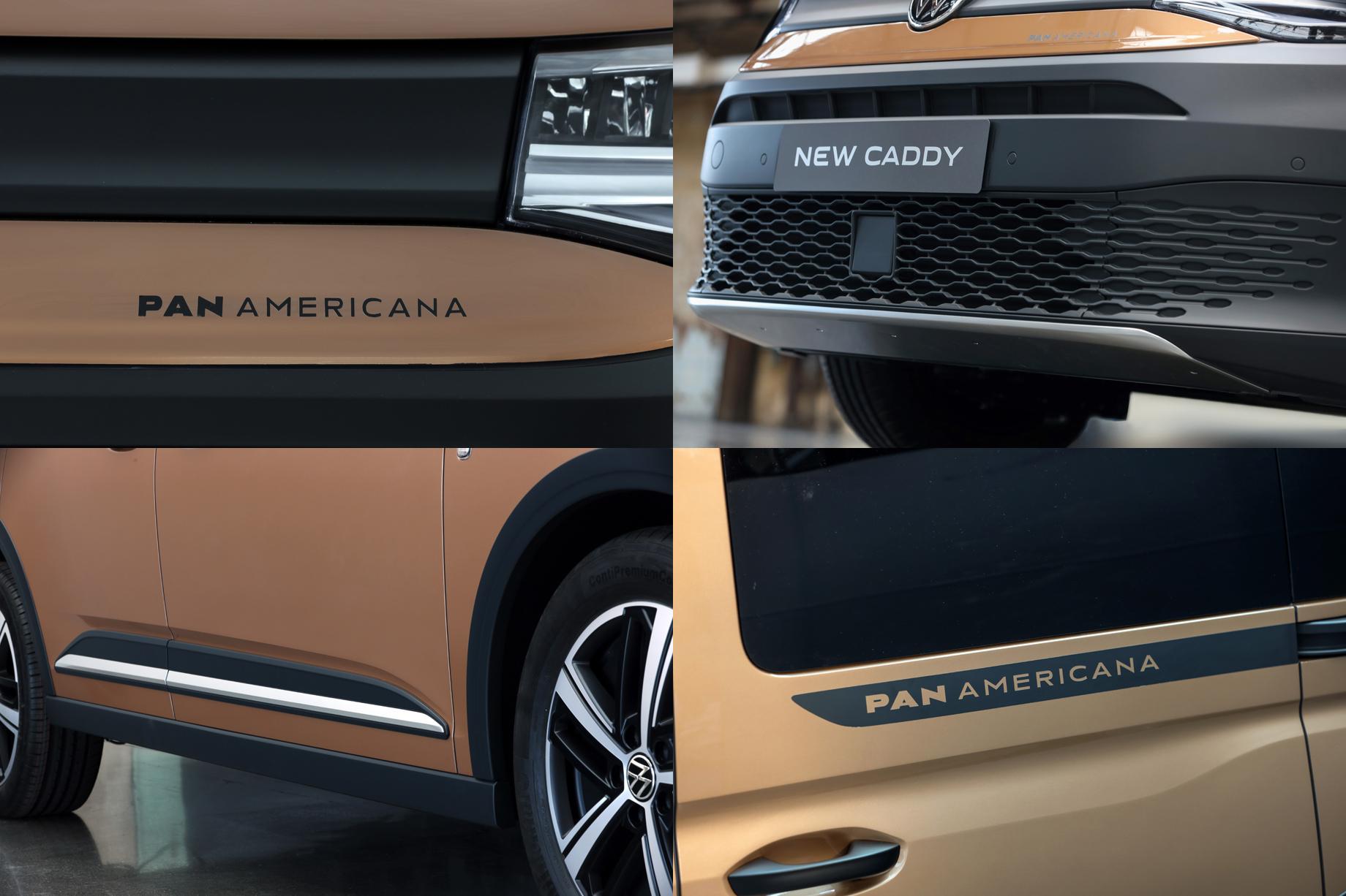 Volkswagen Caddy PanAmericana приготовился к путешествиям