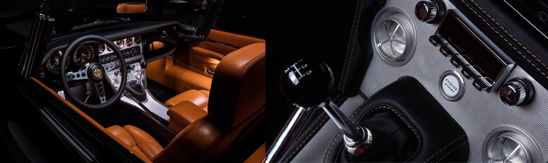 Jaguar E-type третьей серии развил способности мотора V12