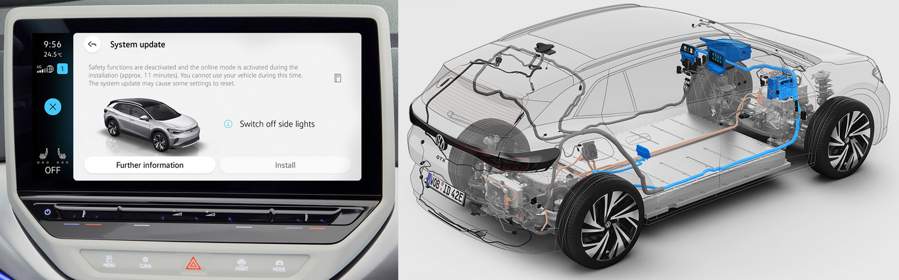 Семейство Volkswagen ID. с июля обновит софт «по воздуху»