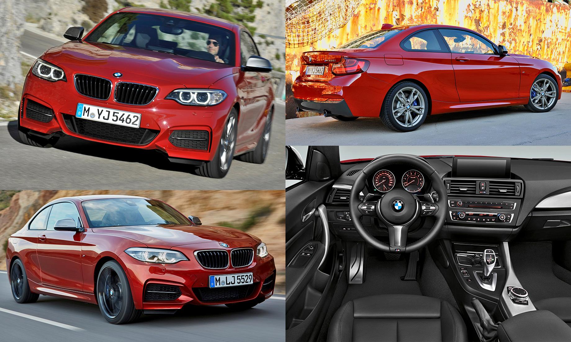 Новое купе BMW второй серии доедет до России в двух версиях
