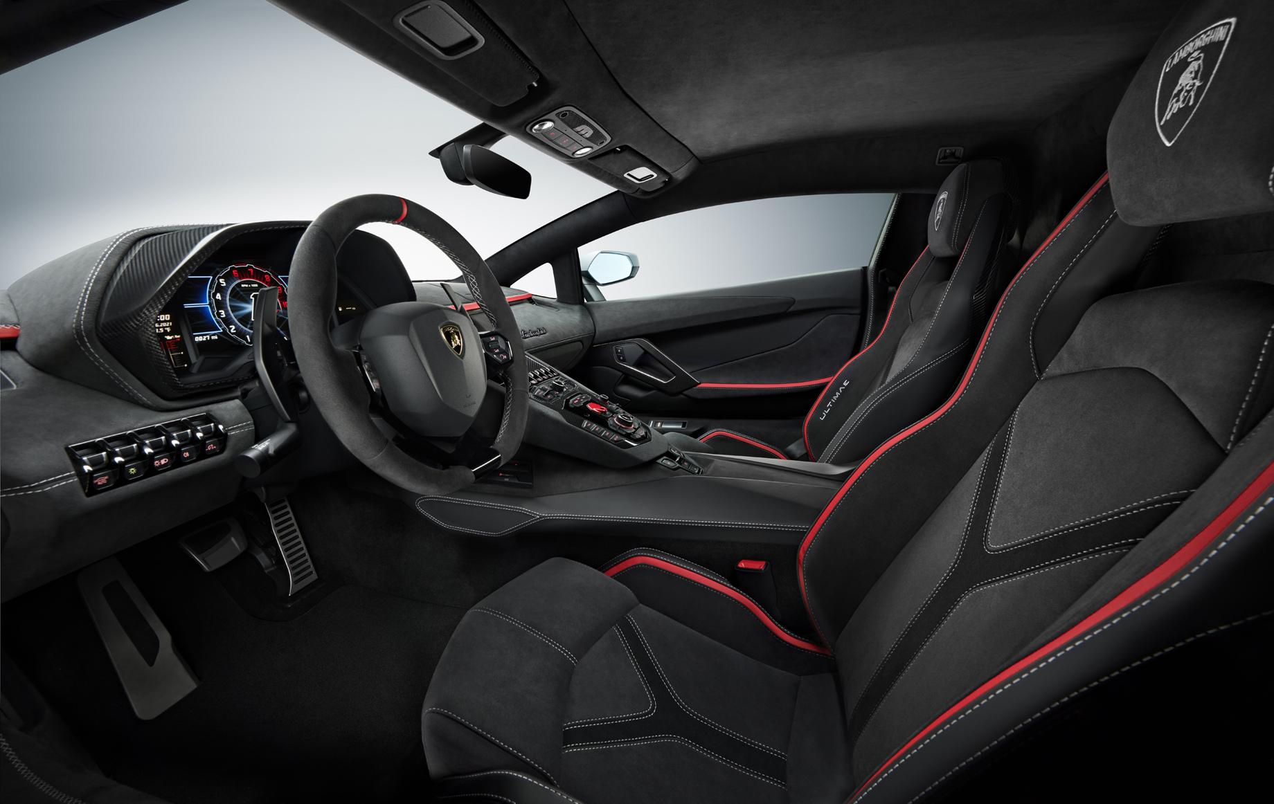 Lamborghini Aventador LP 780-4 Ultimae явился венцом эволюции