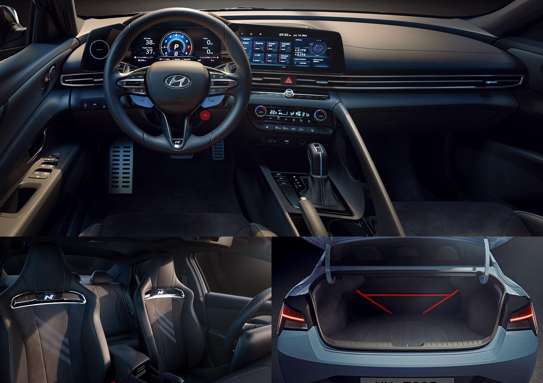 «Заряженный» Hyundai Elantra N вышел на рынок Южной Кореи