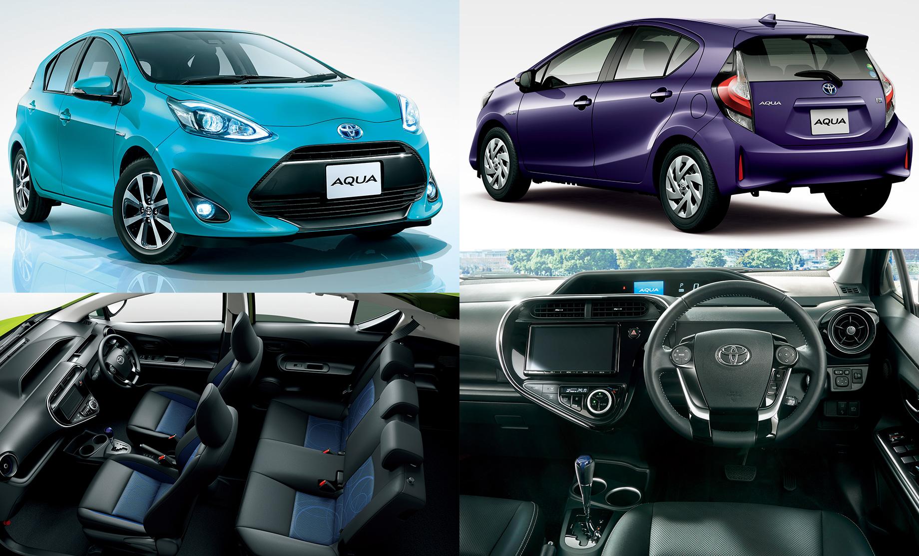«Вторая» Toyota Aqua первой получила новый вид батареи