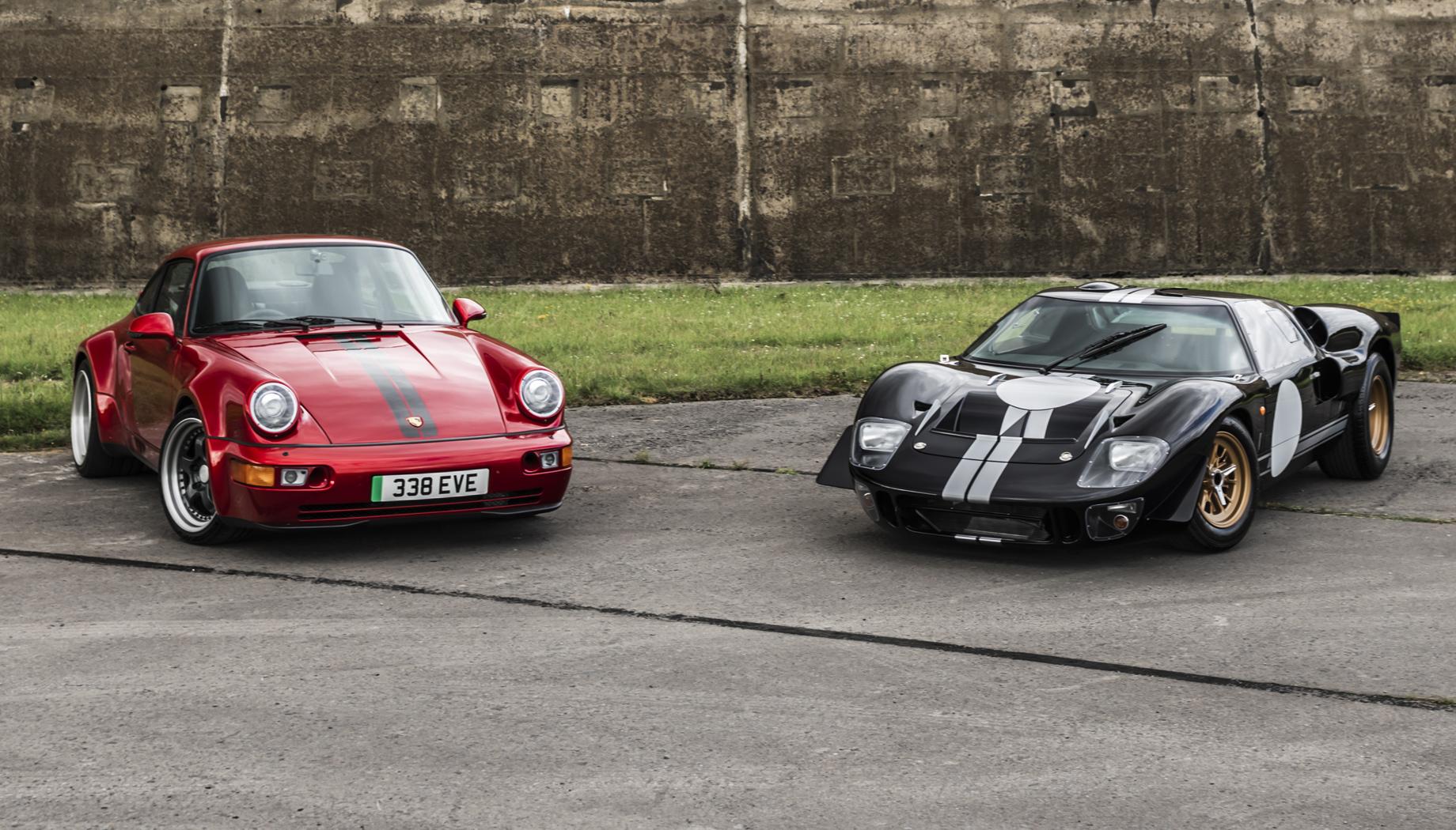 Everrati Superformance GT40 превратил легенду в электрокар