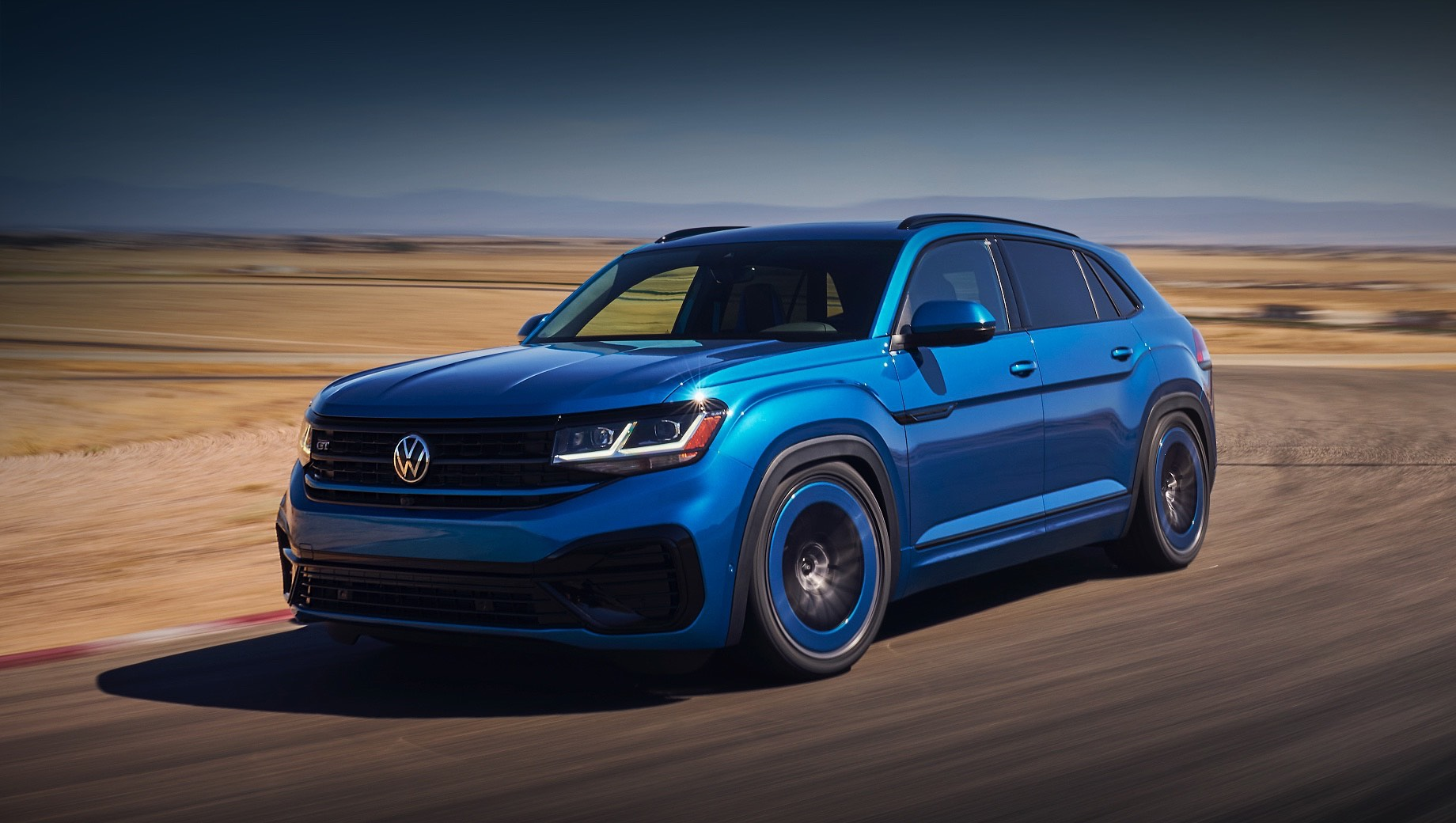 Volkswagen облегчил жизнь тюнерам модели Atlas Cross Sport