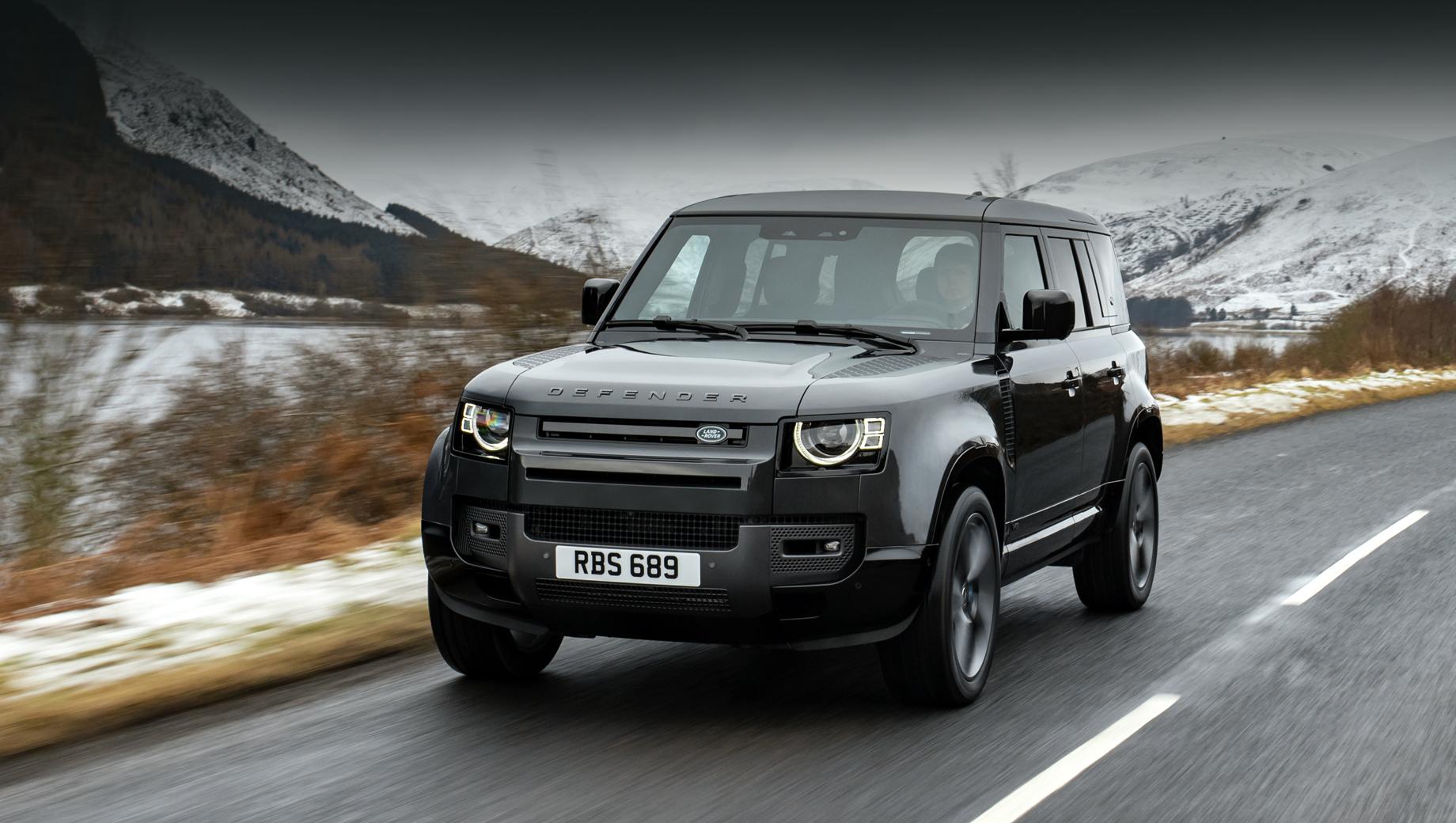 Land Rover Defender SVR понадеется на турбовосьмёрку BMW