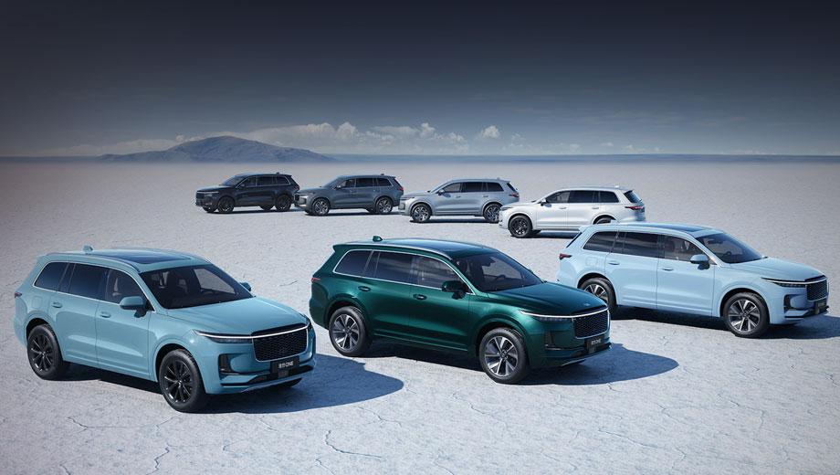 Фирма Li Auto анонсировала пять новых моделей