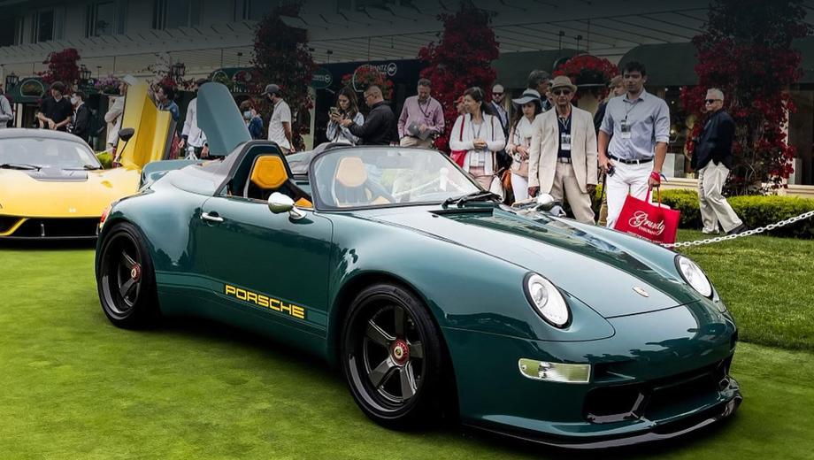 Porsche 911. Обычное купе 993 нередко называют одним из самых красивых поколений 911-го, а в виде Спидстера 993-й становится по-настоящему притягательным. Интересно, что заниженное лобовое стекло взято от модели 964 Speedster.