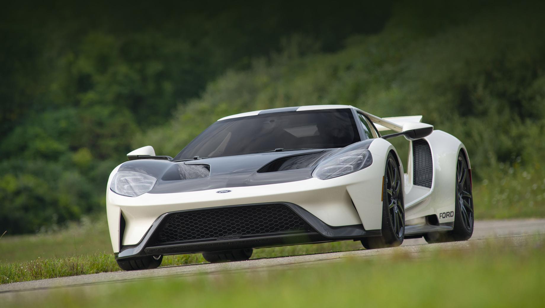 Финальный Ford GT Heritage отдал дань уважения прототипам