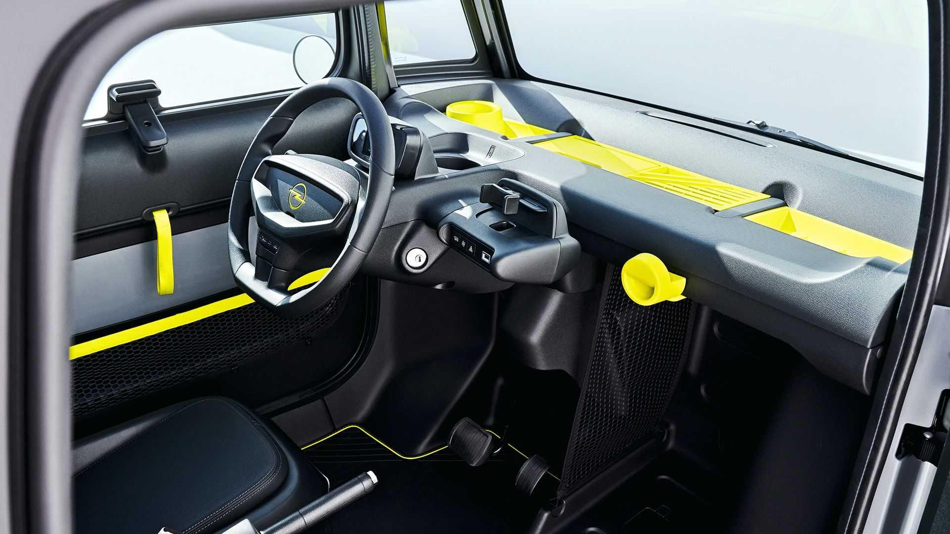 Электрокар Opel Rocks-e скопировал квадрицикл Citroen Ami
