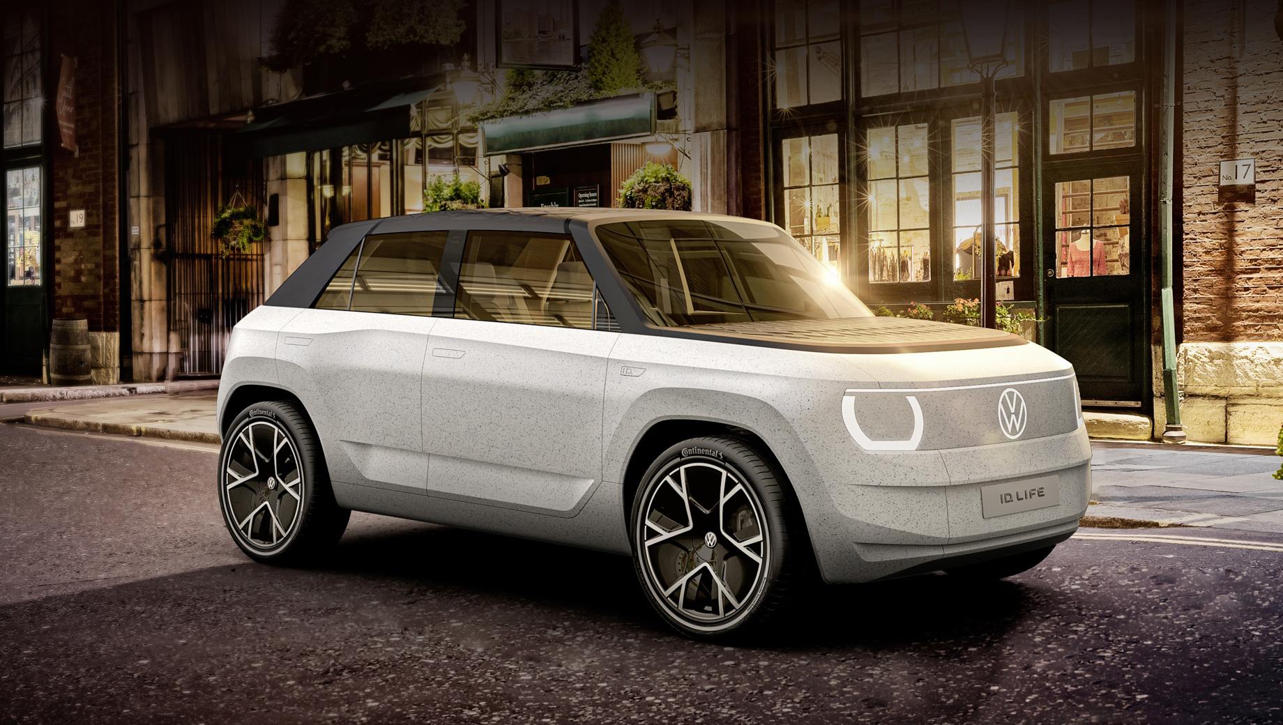 Volkswagen concept,Volkswagen id life,Volkswagen id2. Фольксвагеновский младший электрокар разительно отличается простыми формами от недавно показанного собрата Cupra UrbanRebel. Если говорить о внешнем дизайне, то родственником скорее выглядит Honda e.