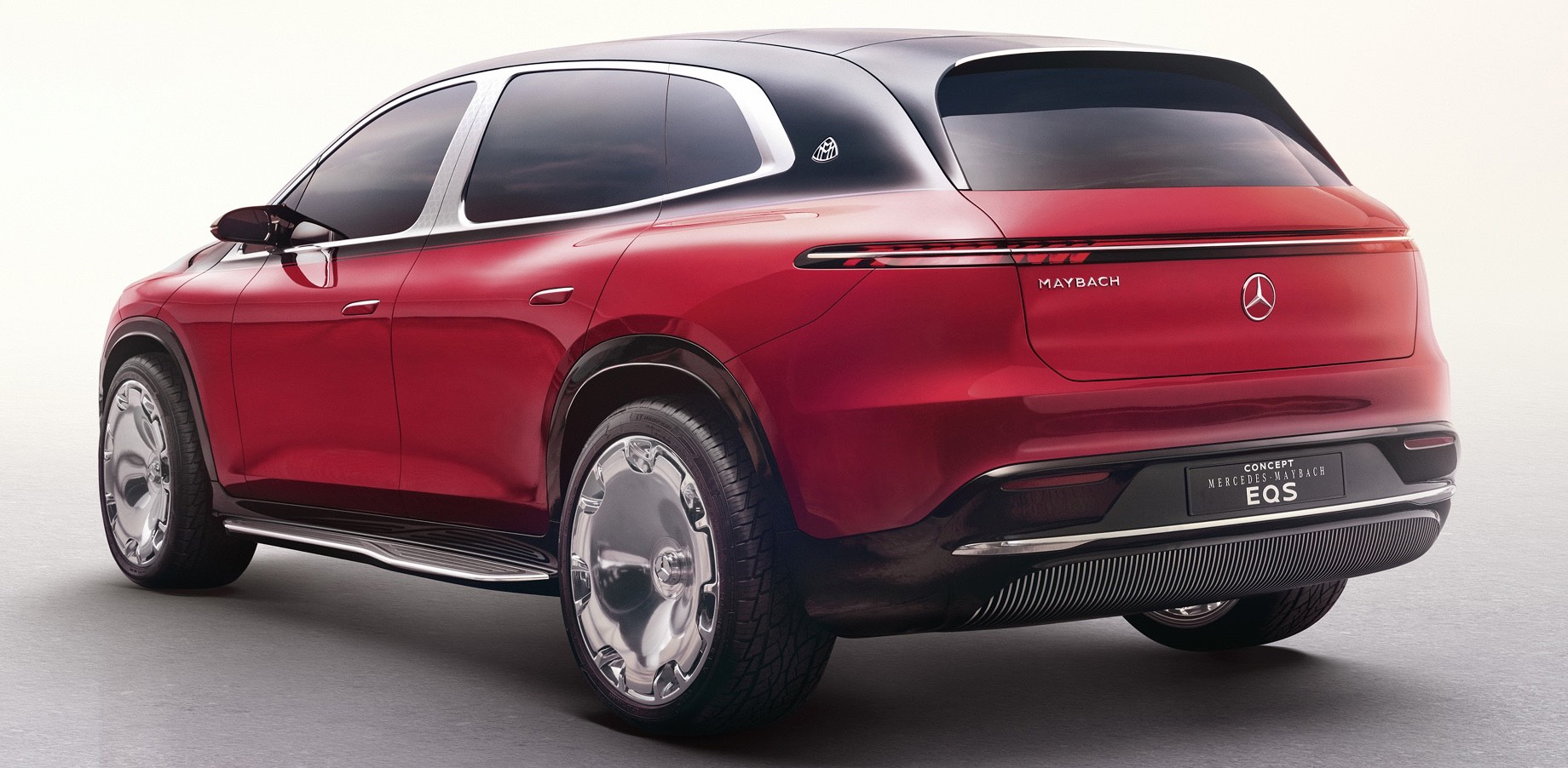 Mercedes-Maybach EQS обрисовал роскошный электрокроссовер