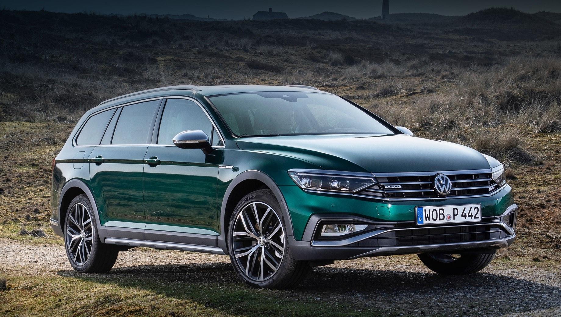 Универсал Volkswagen Passat Alltrack высоко оценён в рублях