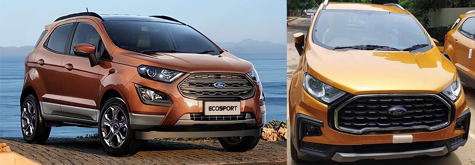 Субкомпакт Ford EcoSport оказался на грани исчезновения