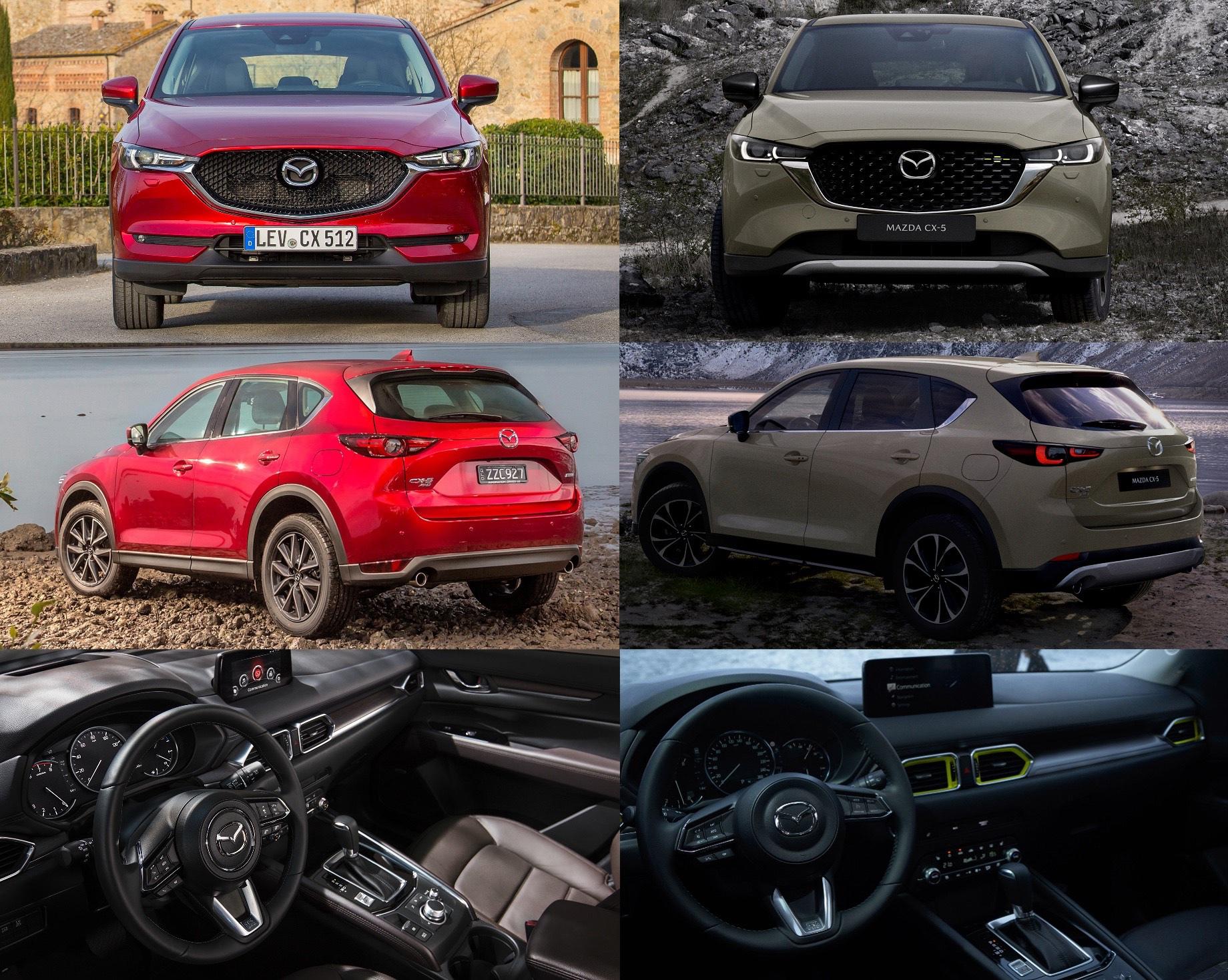 Mazda CX-5 скромно обновилась для Европы и Америки