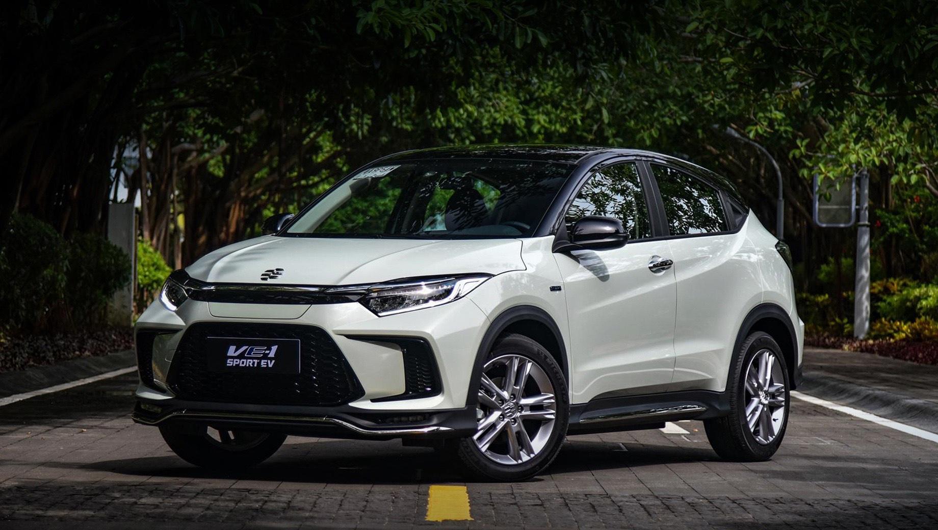 Электрокар Honda VE-1 немного улучшен для Китая